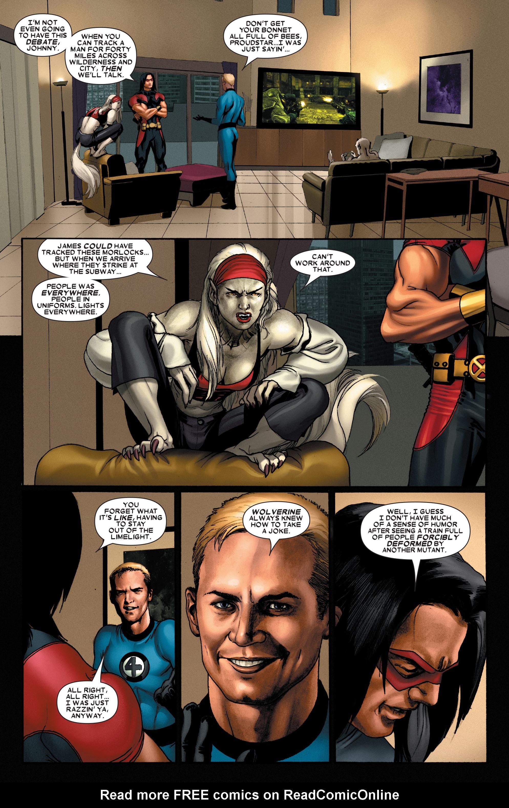Read online Uncanny X-Men (1963) comic -  Issue #489 - 7