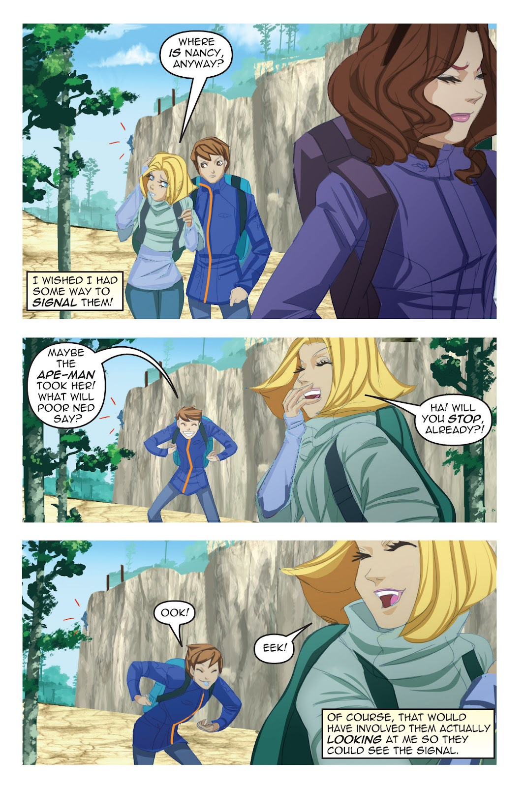 Read online Nancy Drew comic -  Issue #19 - 25