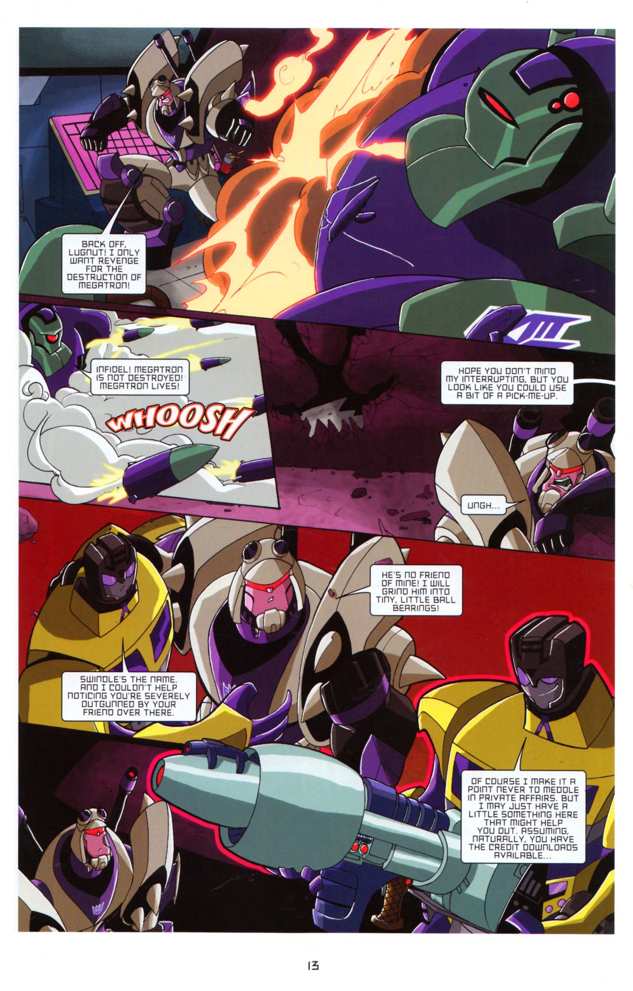 Read online Transformers Animated: The Arrival comic -  Issue #5 - 17