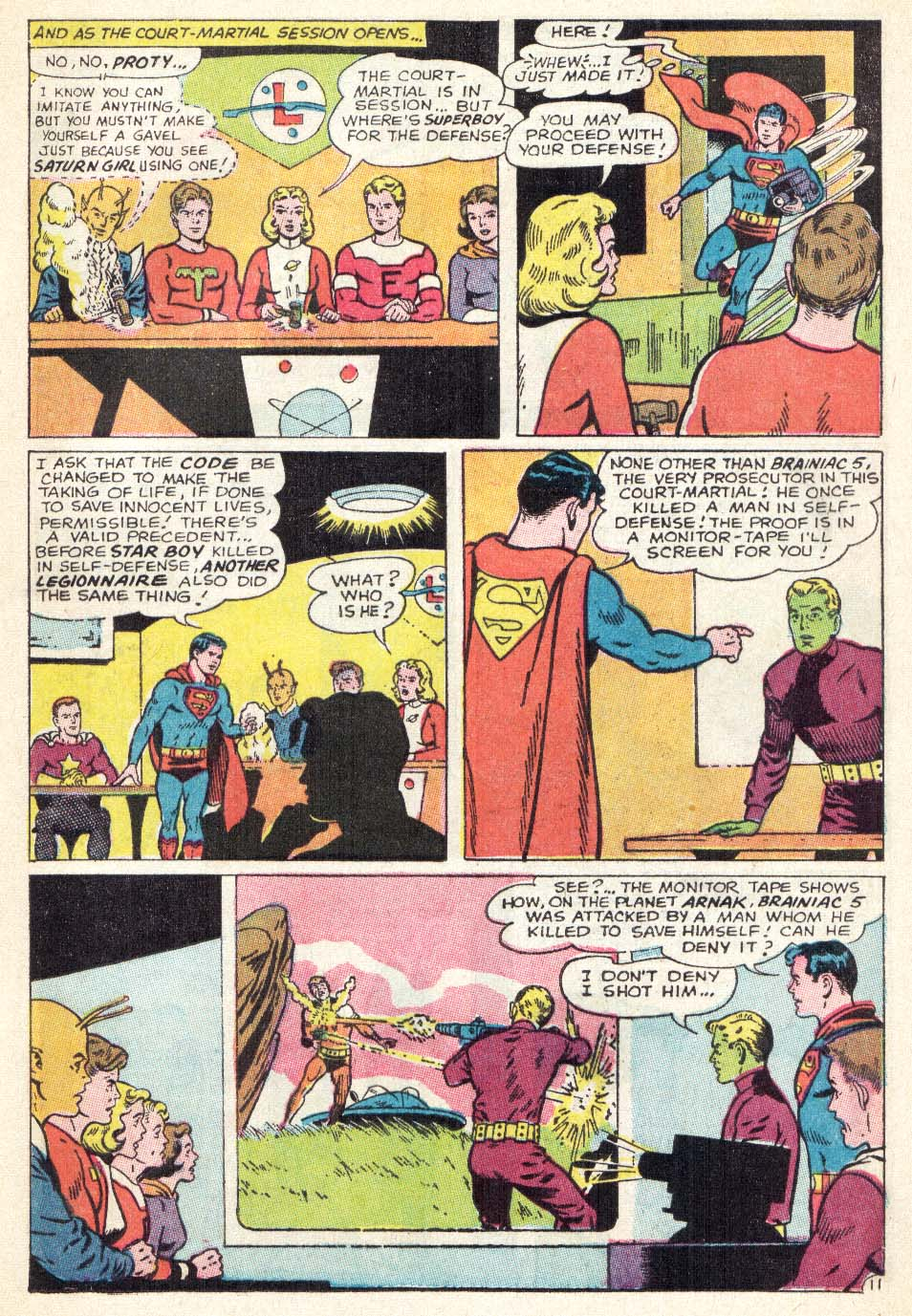 Read online Adventure Comics (1938) comic -  Issue #342 - 17