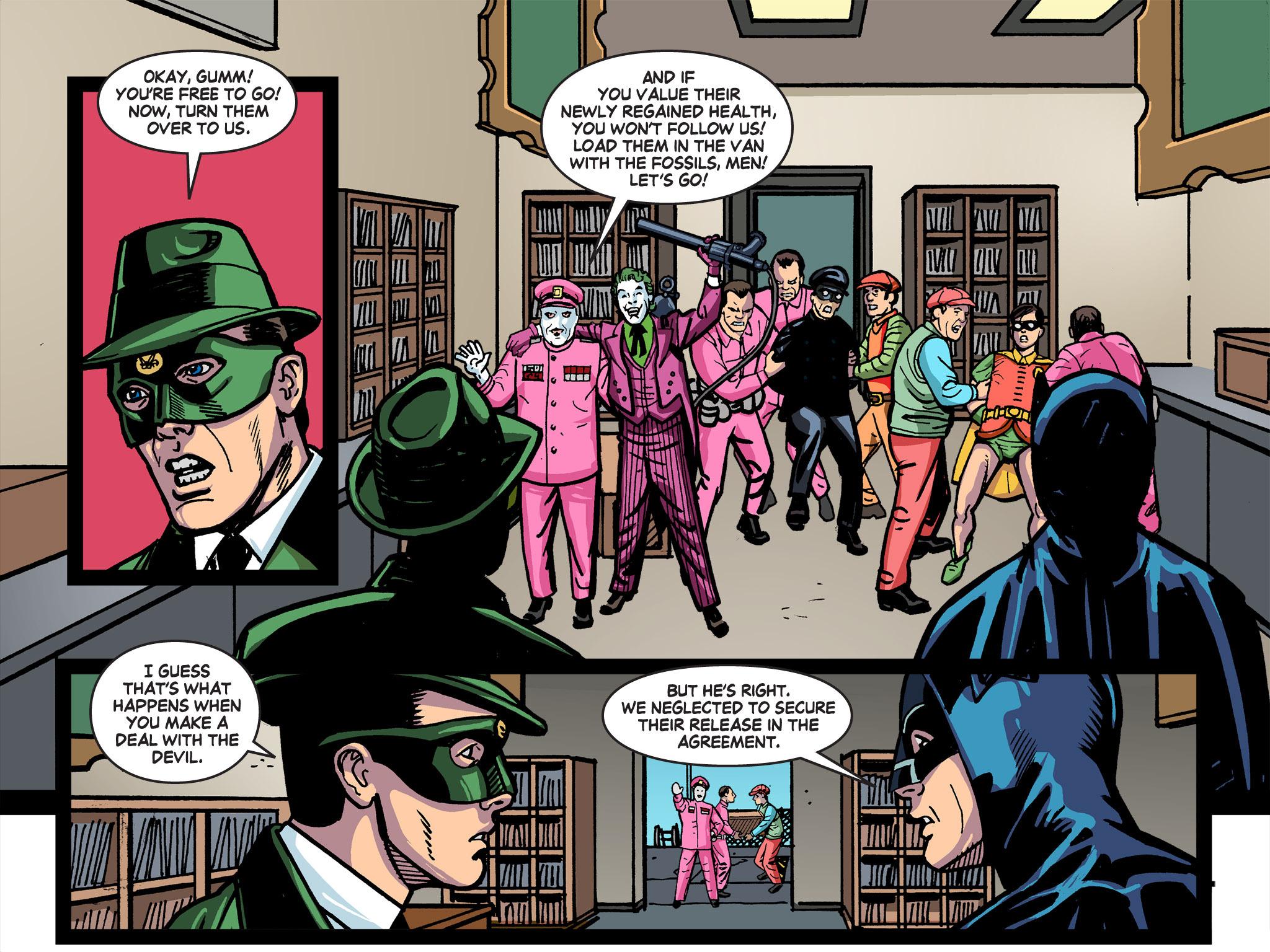 Read online Batman '66 Meets the Green Hornet [II] comic -  Issue #5 - 24