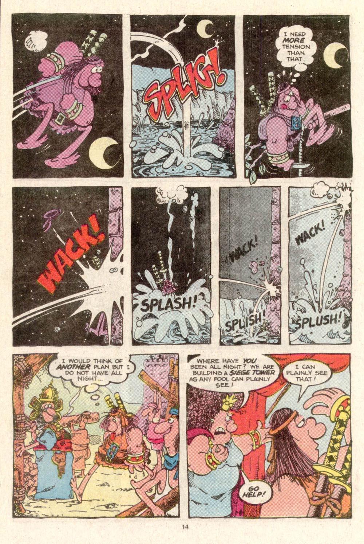 Read online Sergio Aragonés Groo the Wanderer comic -  Issue #19 - 14