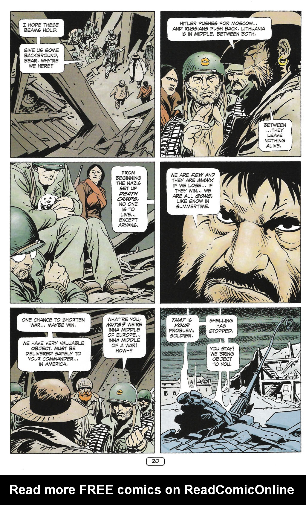 Read online Sgt. Rock: The Prophecy comic -  Issue #1 - 22