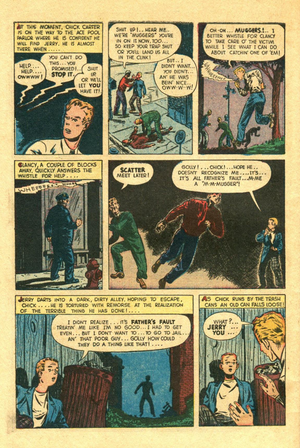 Read online Shadow Comics comic -  Issue #98 - 48