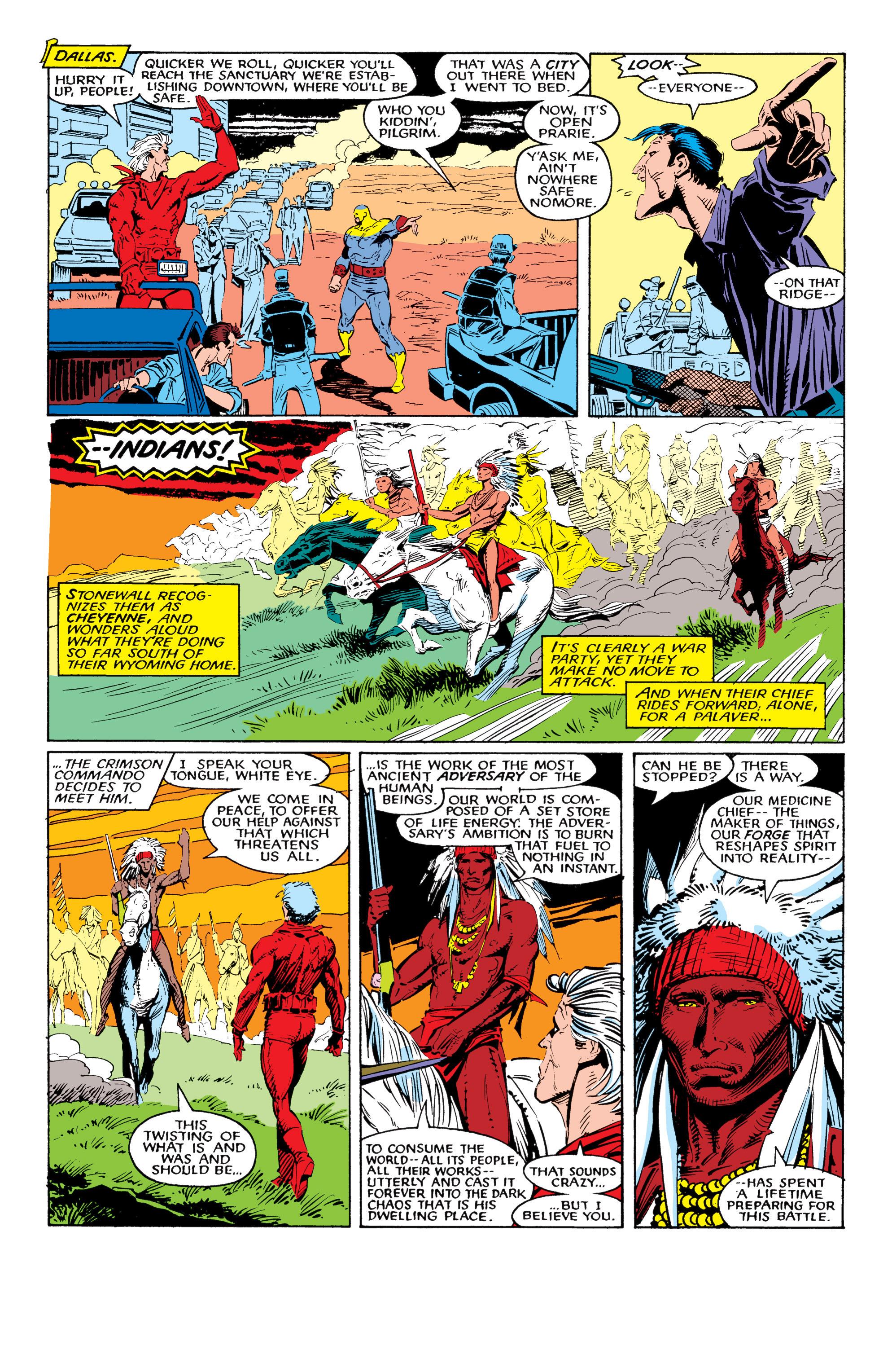 Read online Uncanny X-Men (1963) comic -  Issue #226 - 23