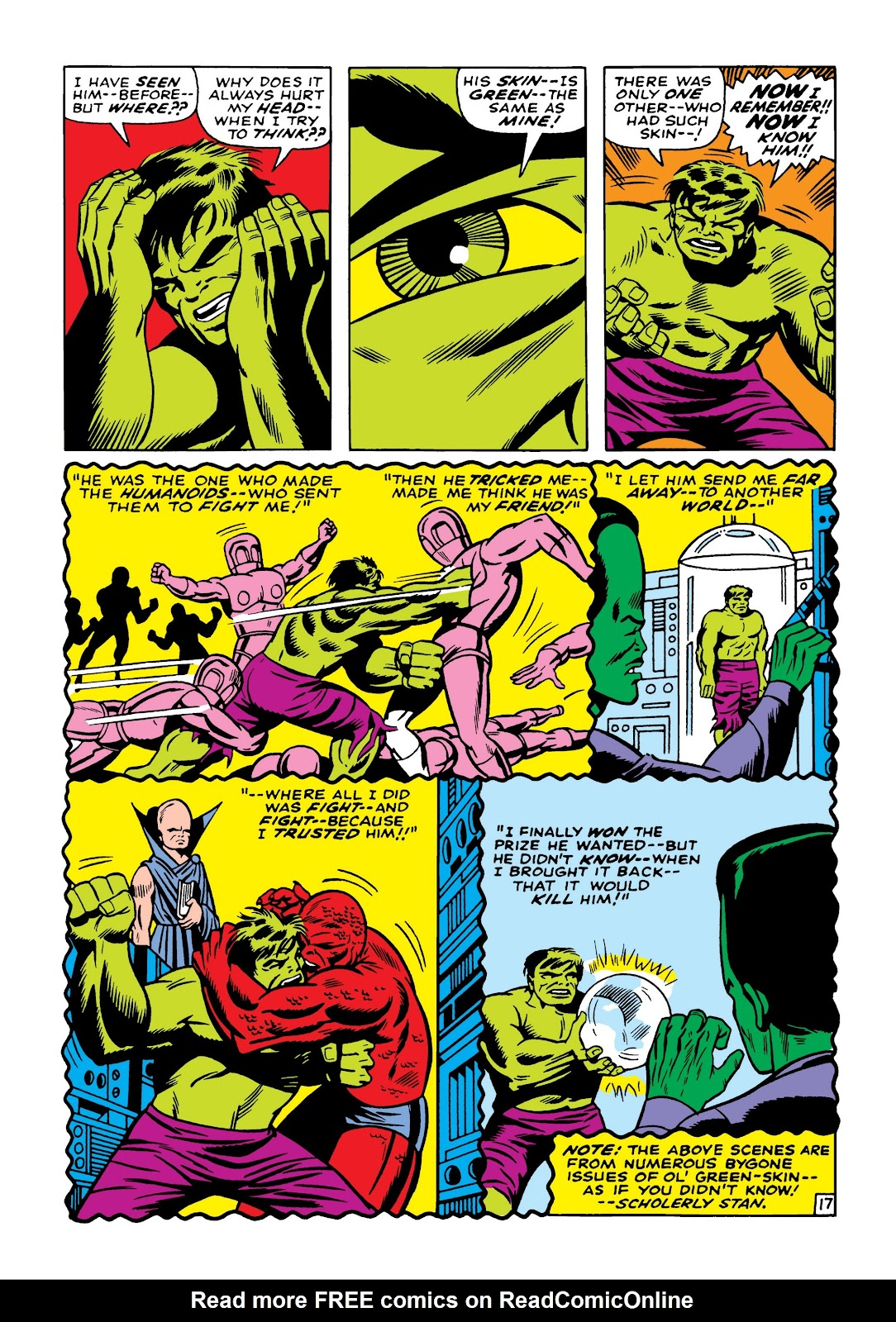 Read online Marvel Masterworks: The Incredible Hulk comic -  Issue # TPB 5 (Part 2) - 7