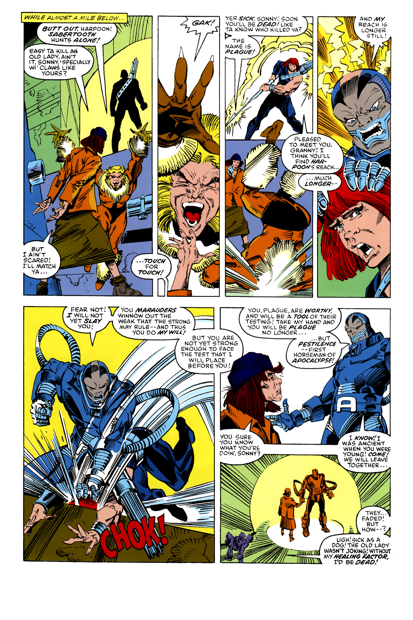 Read online X-Factor (1986) comic -  Issue #10 - 18