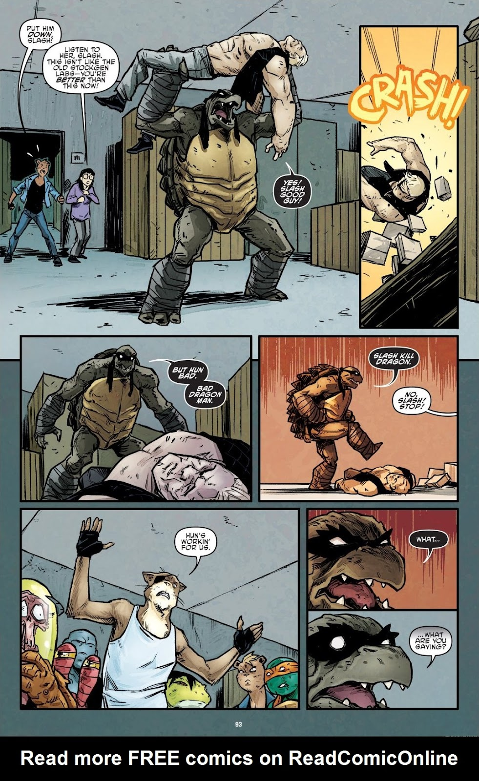 Read online Teenage Mutant Ninja Turtles: The IDW Collection comic -  Issue # TPB 7 (Part 1) - 91