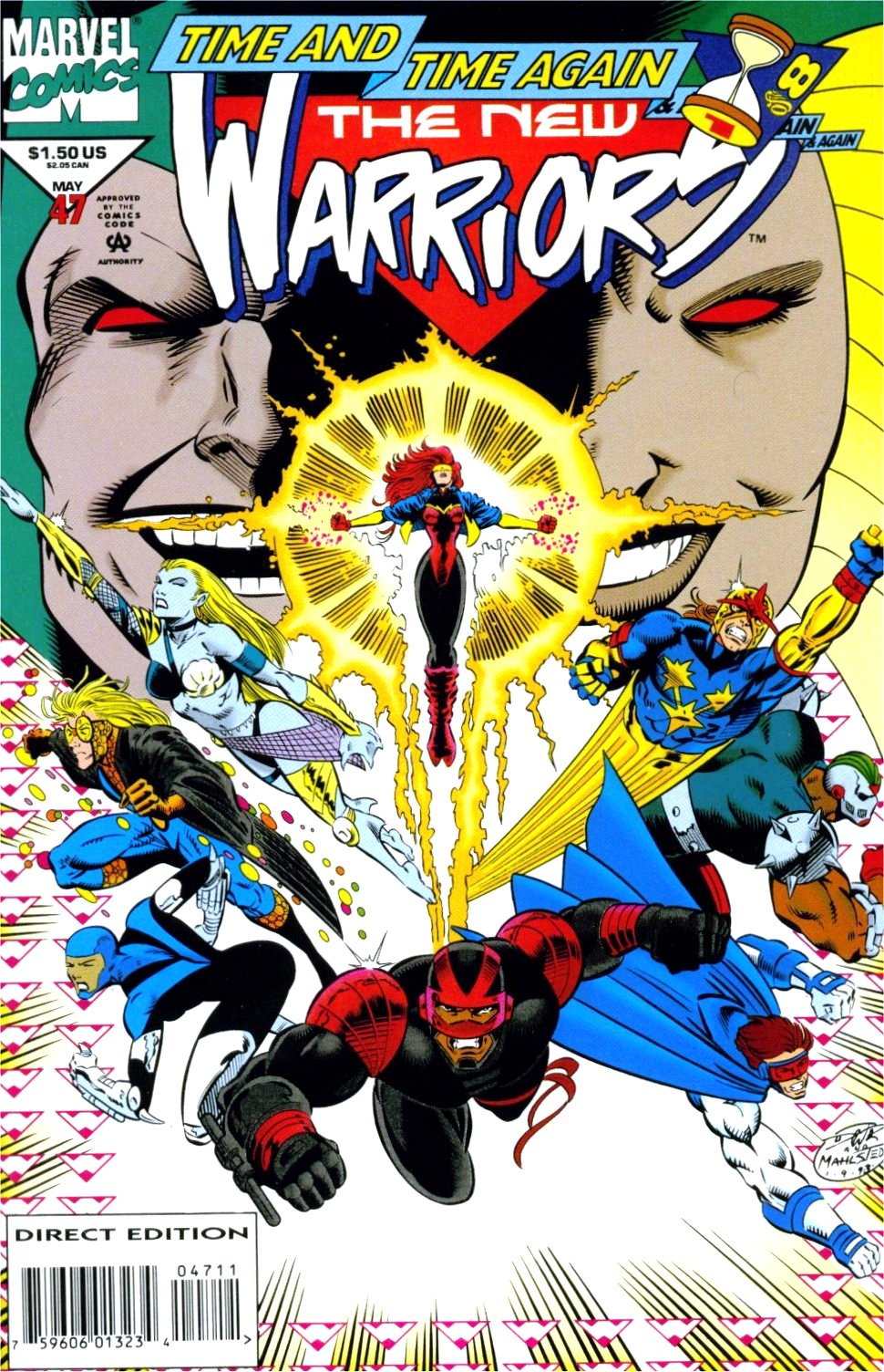 The New Warriors Issue #47 #51 - English 1