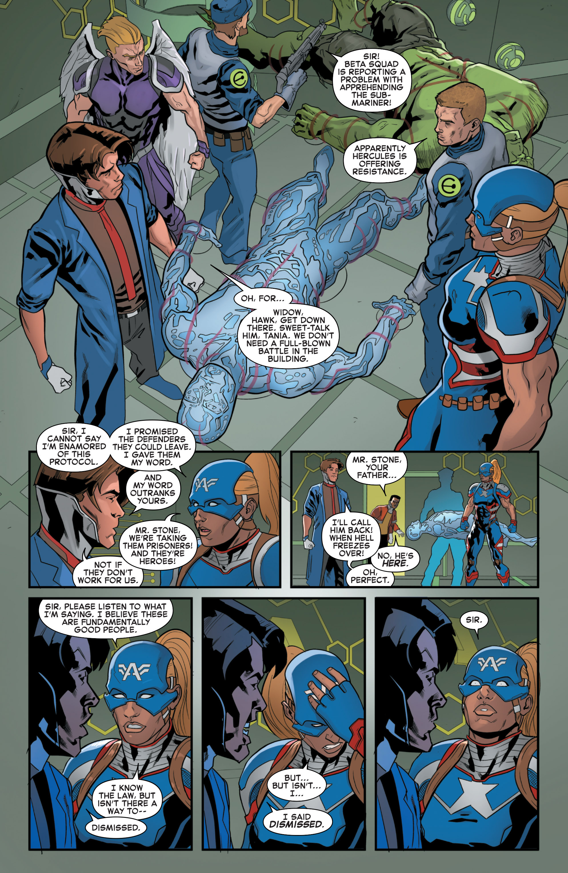 Read online Secret Wars 2099 comic -  Issue #4 - 5