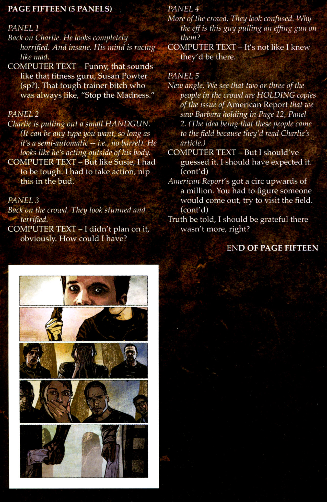 Read online Stephen King's N. comic -  Issue #4 - 29