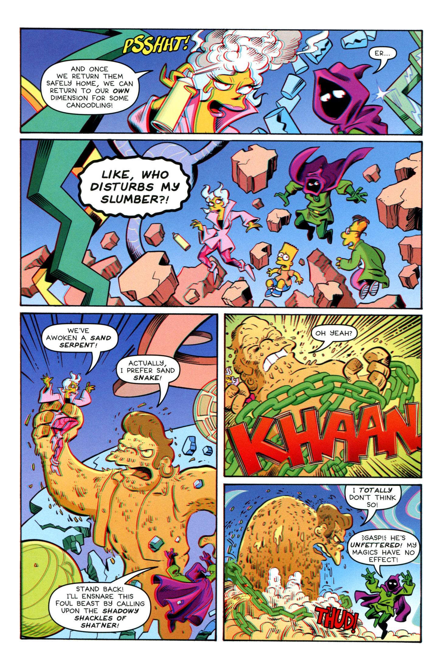 Read online Simpsons One-Shot Wonders: Professor Frink comic -  Issue # Full - 26