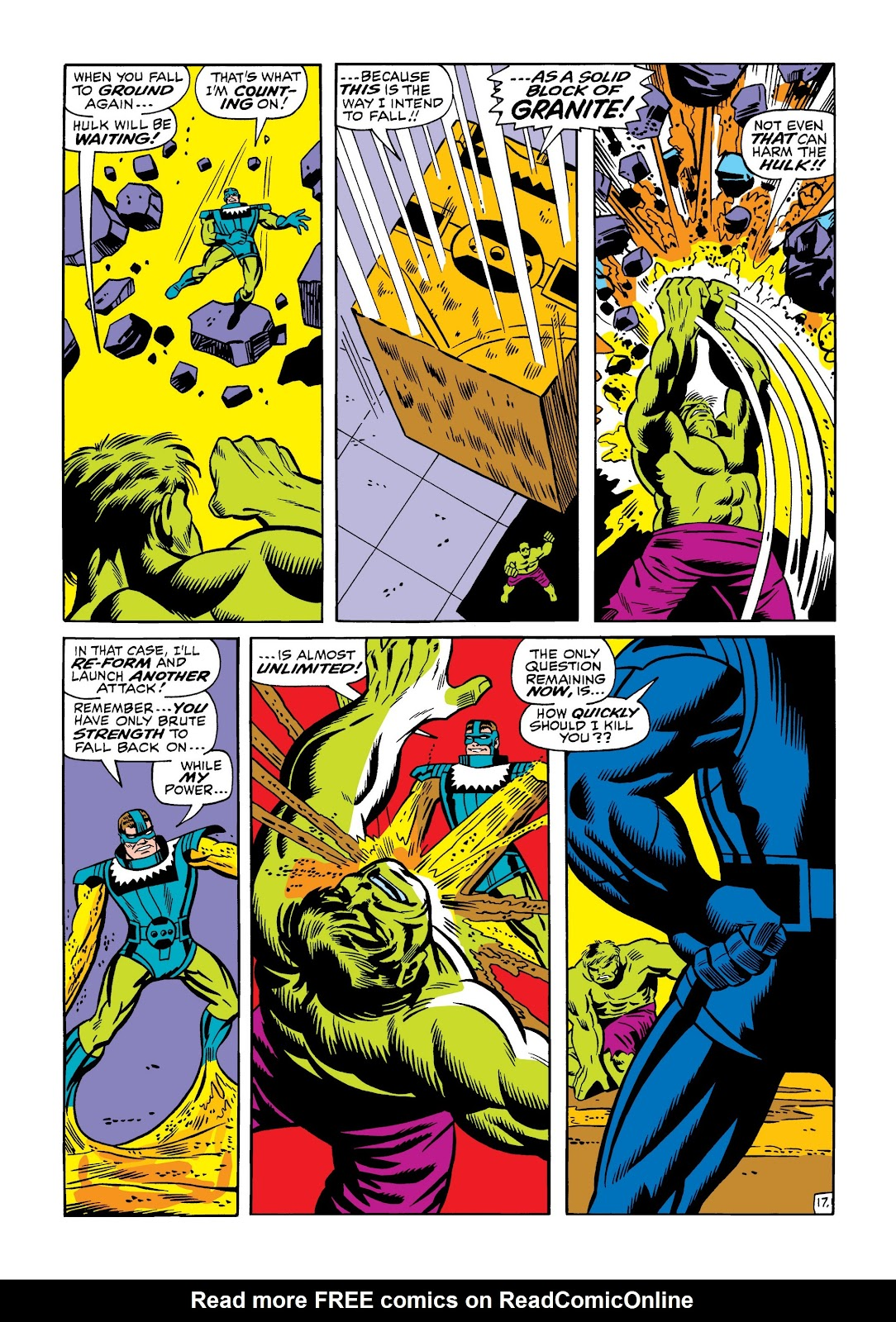 Read online Marvel Masterworks: The Incredible Hulk comic -  Issue # TPB 5 (Part 1) - 65