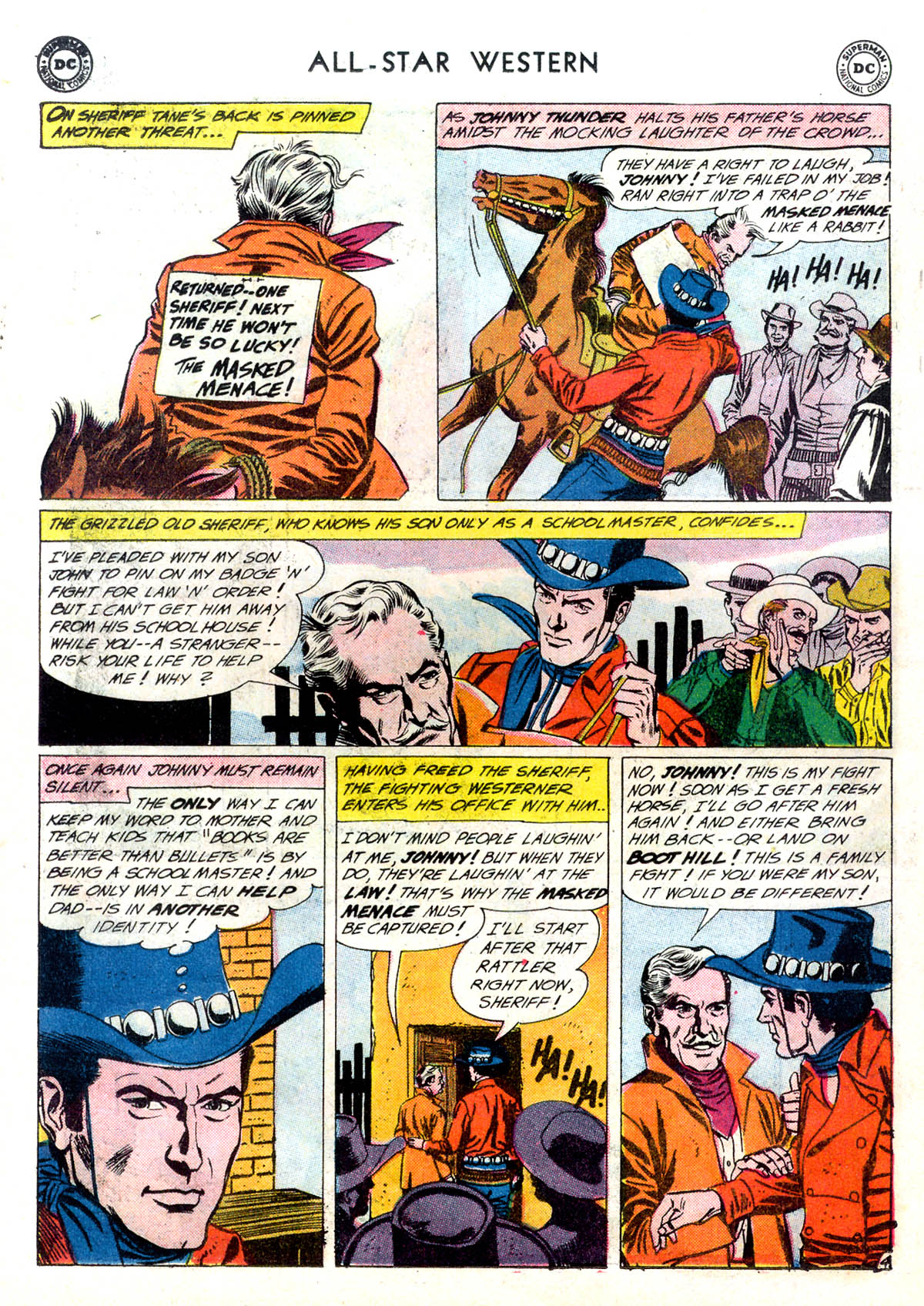 Read online All-Star Western (1951) comic -  Issue #116 - 6