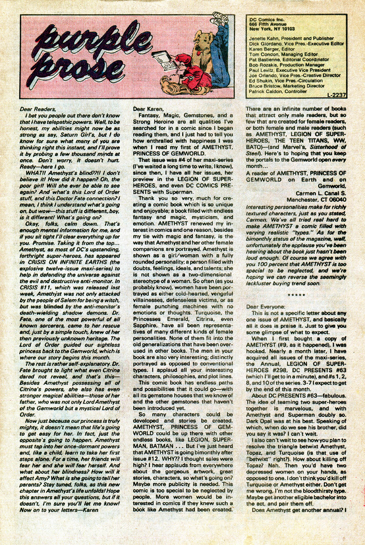Read online Amethyst (1985) comic -  Issue #13 - 33