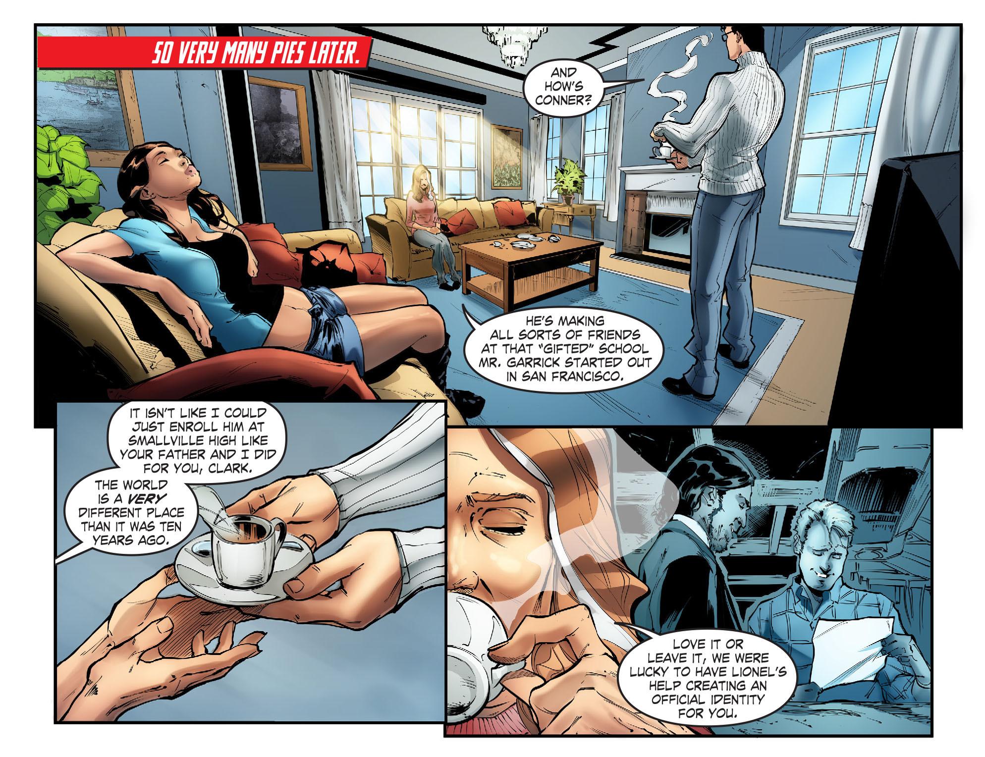 Read online Smallville: Season 11 comic -  Issue #57 - 11