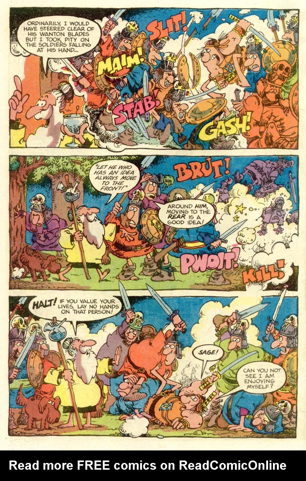 Read online Sergio Aragonés Groo the Wanderer comic -  Issue #9 - 4
