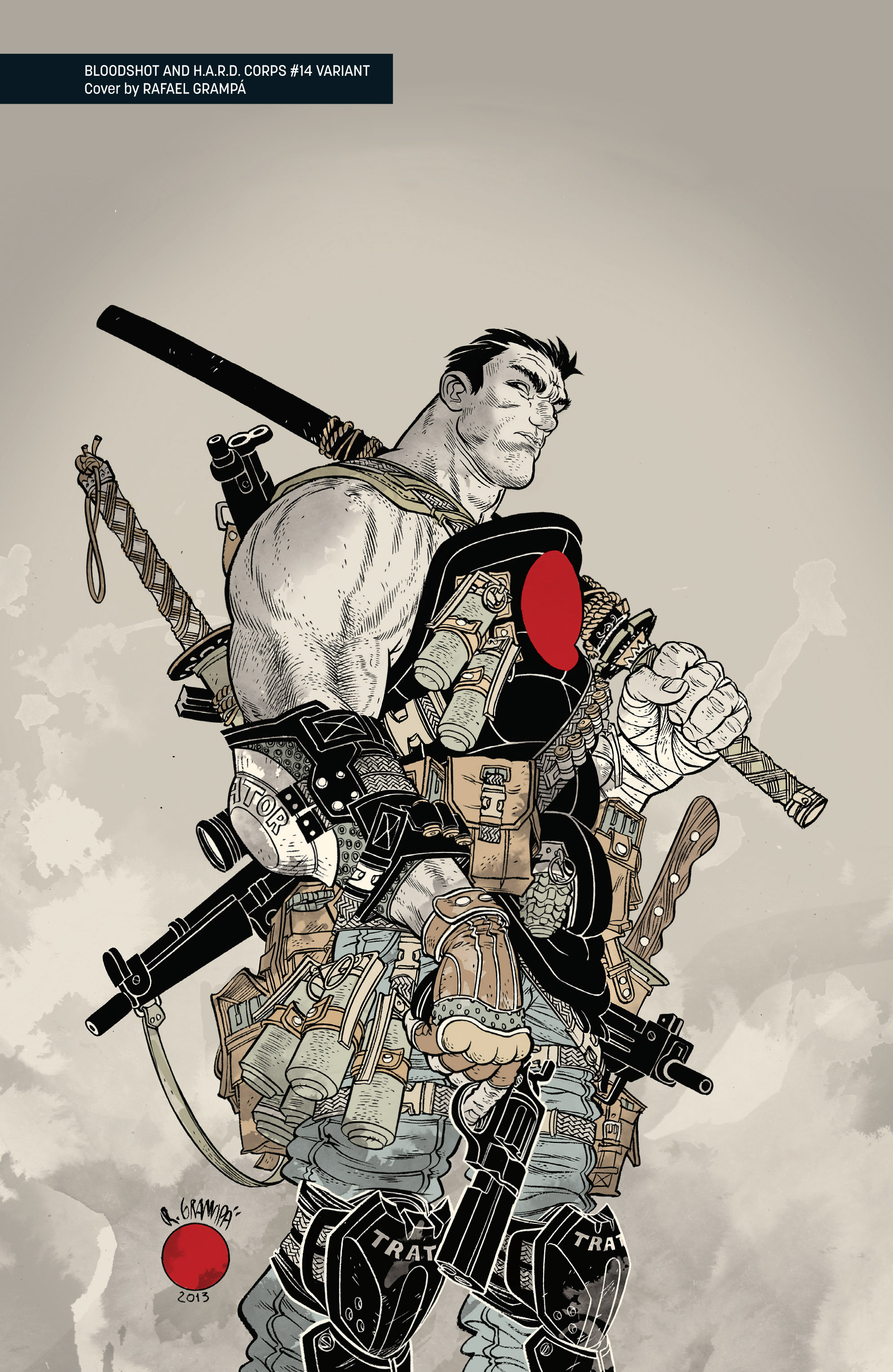 Read online Bloodshot and H.A.R.D.Corps comic -  Issue # TPB 4 - 123