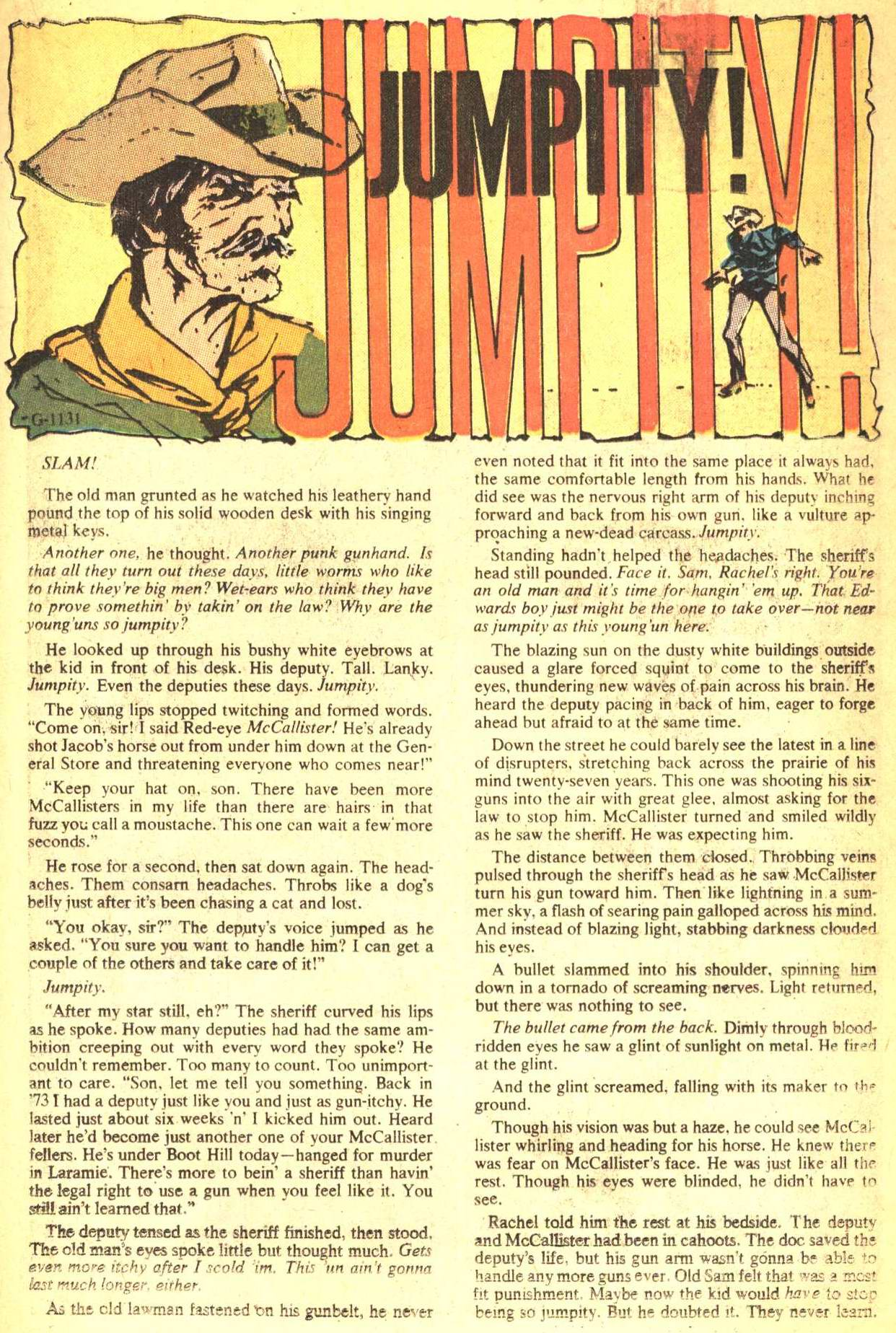 Read online All-Star Western (1970) comic -  Issue #4 - 17