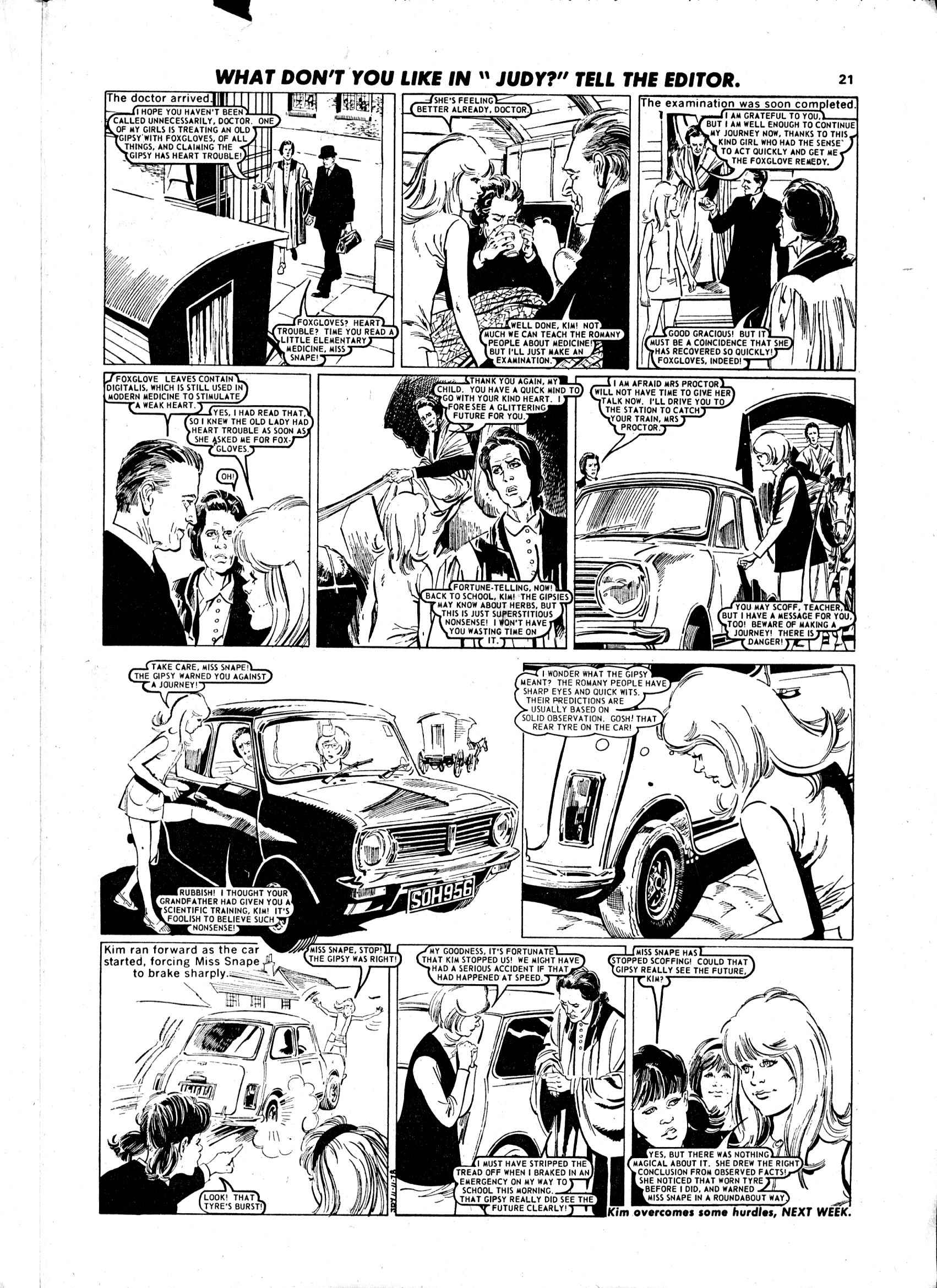 Read online Judy comic -  Issue #983 - 21