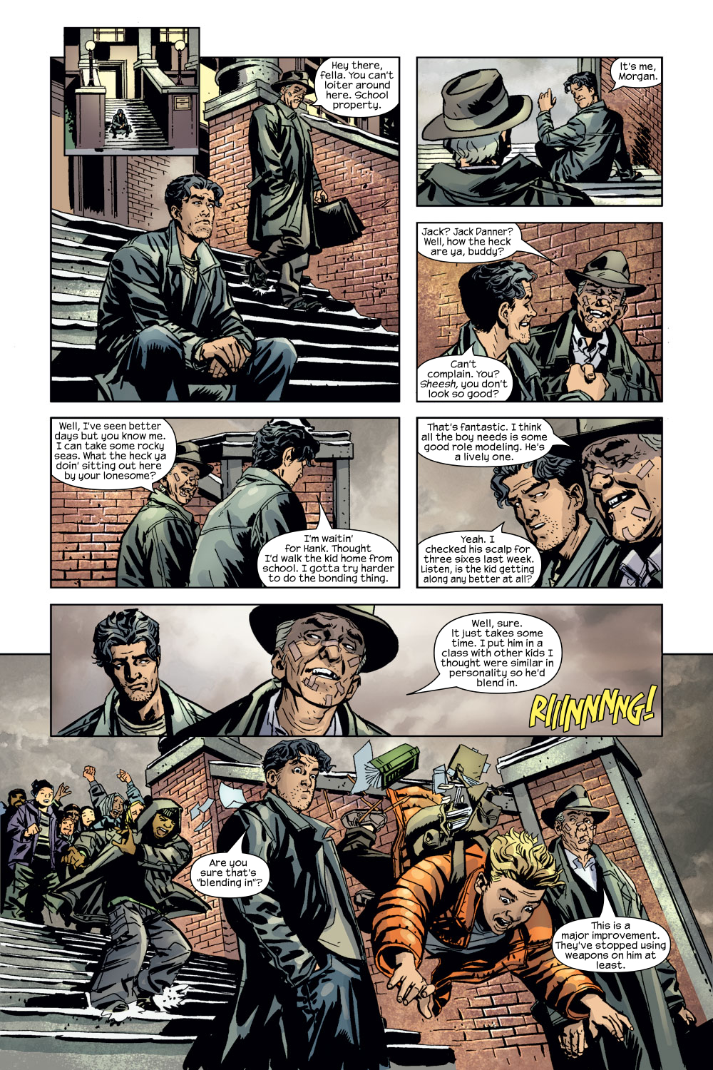 Read online Ultimate Adventures comic -  Issue #3 - 18