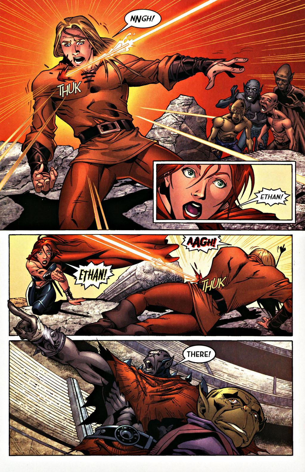 Read online Scion comic -  Issue #27 - 16