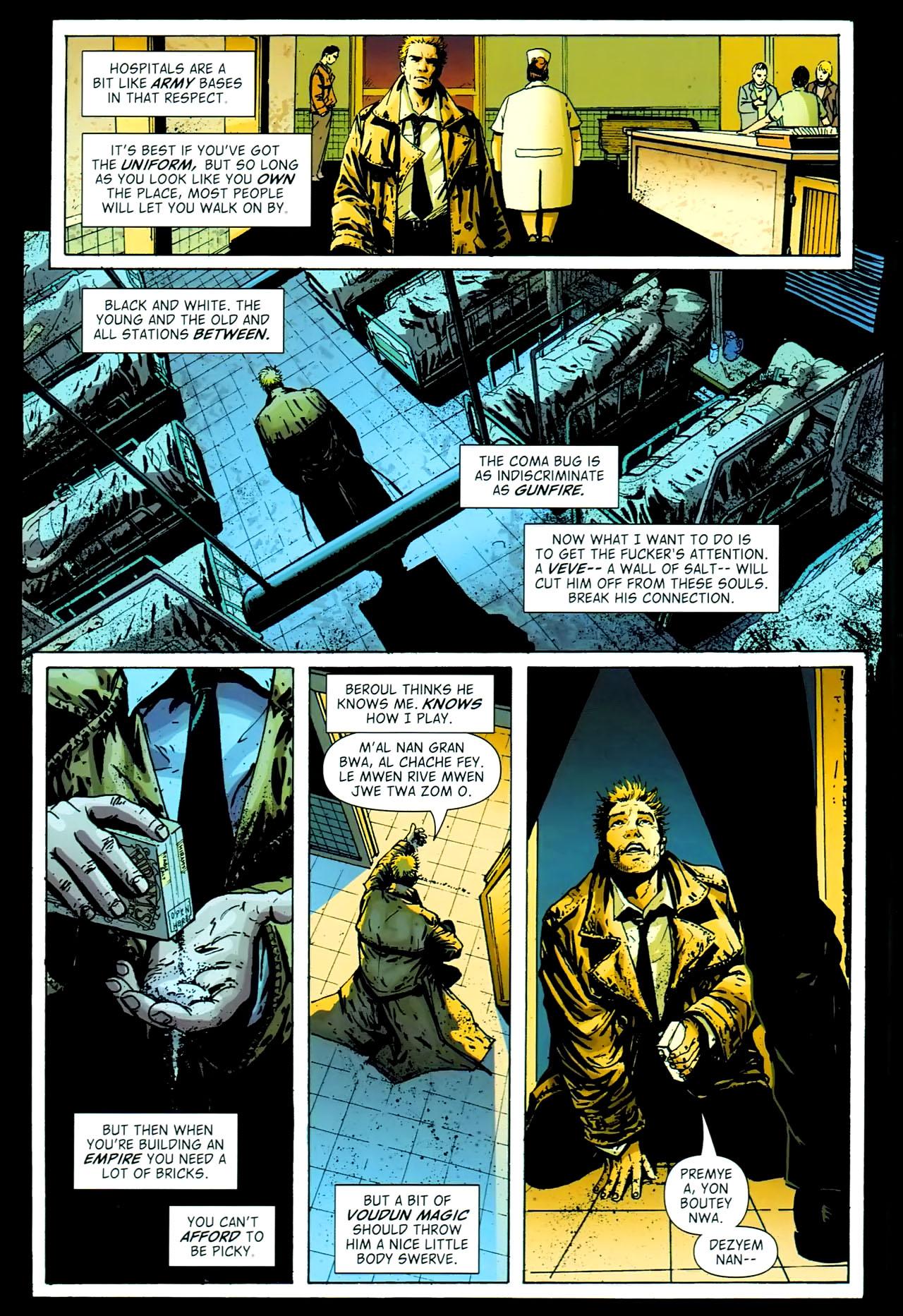 Read online John Constantine Hellblazer: All His Engines comic -  Issue # Full - 100