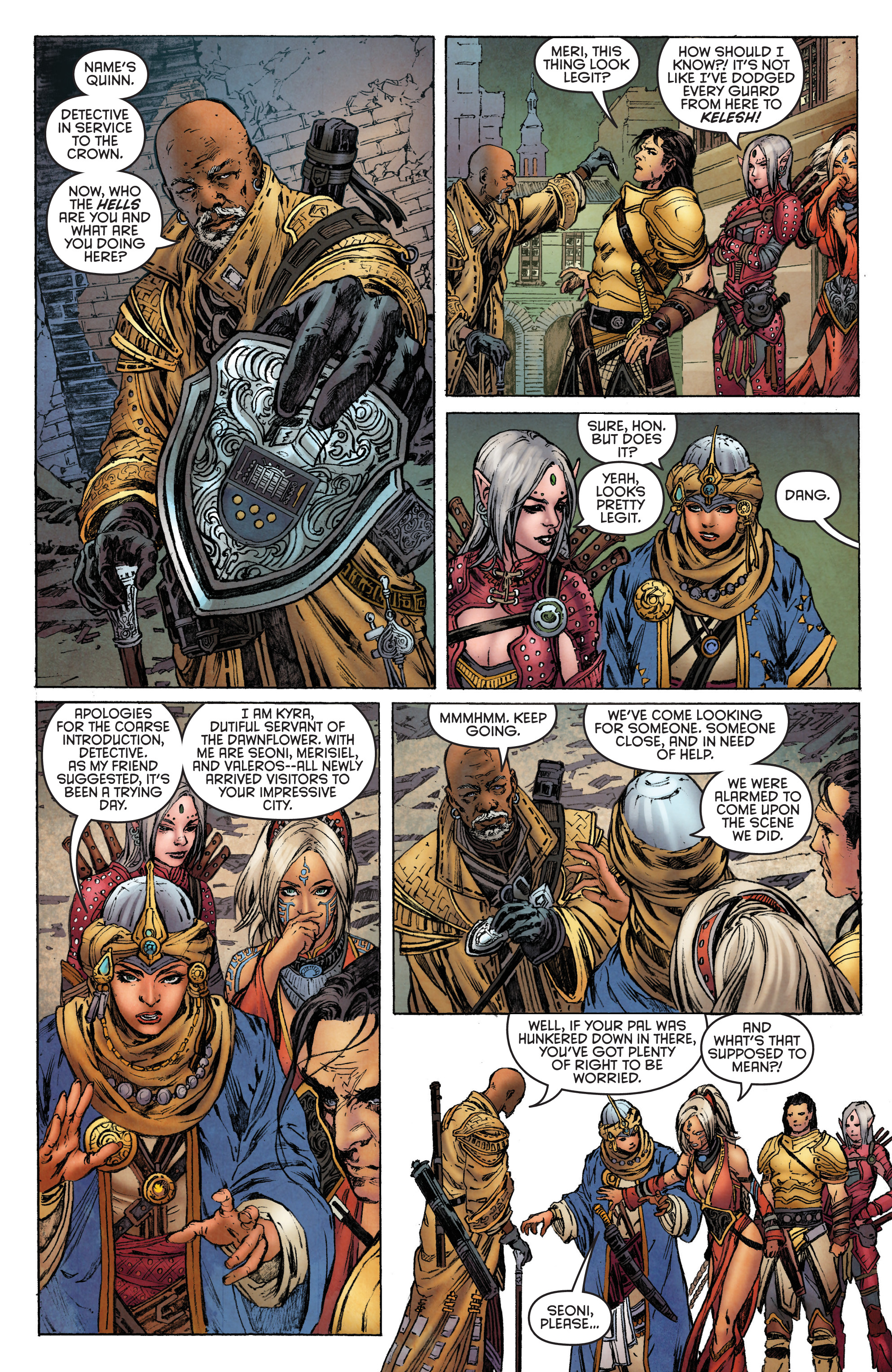 Read online Pathfinder: Runescars comic -  Issue #1 - 13