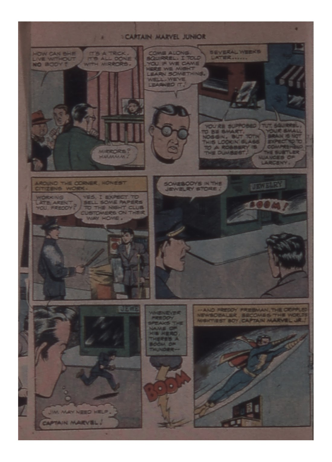 Captain Marvel, Jr. issue 58 - Page 28
