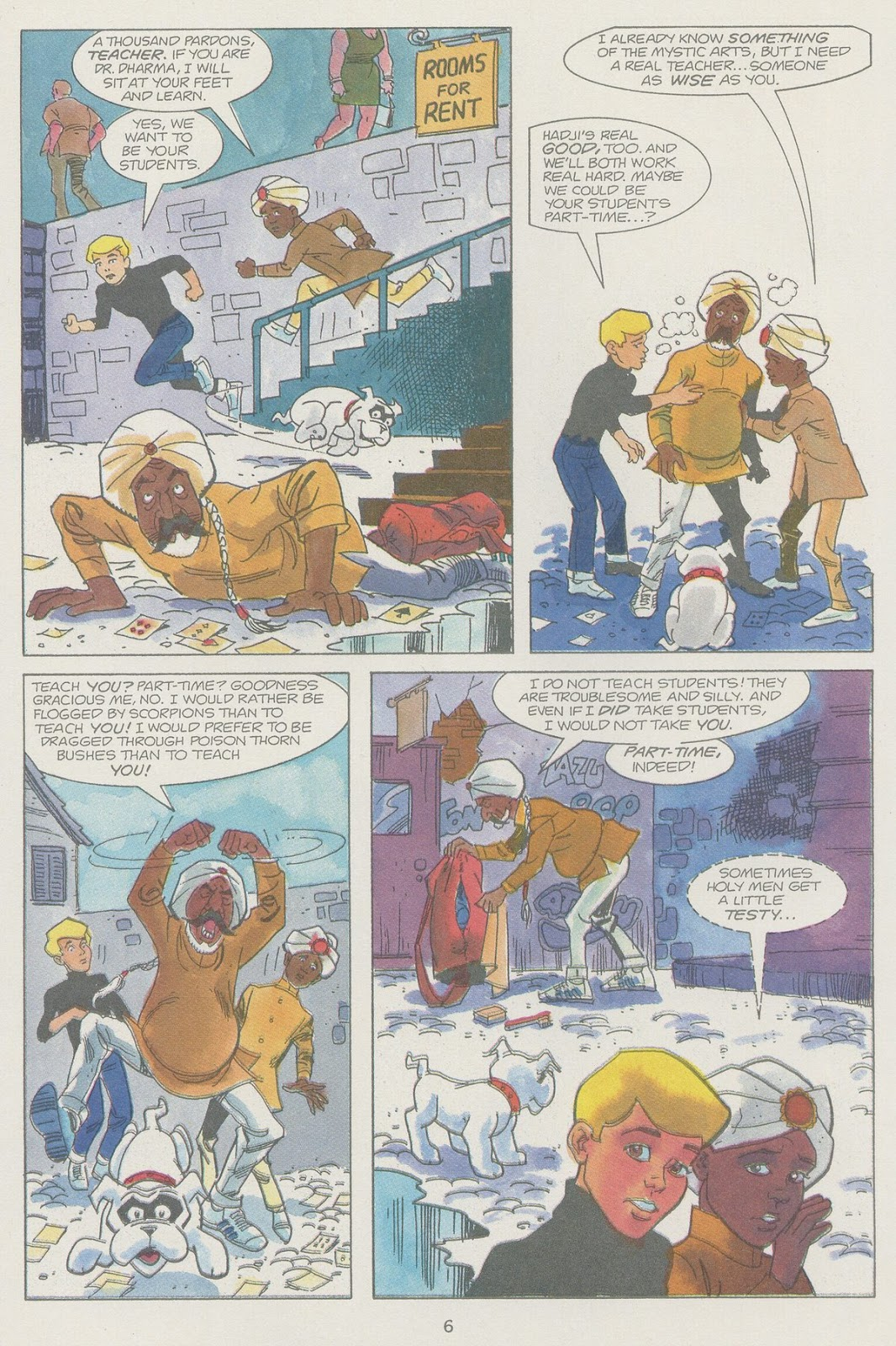 Jonny Quest (1986) issue 19 - Page 8