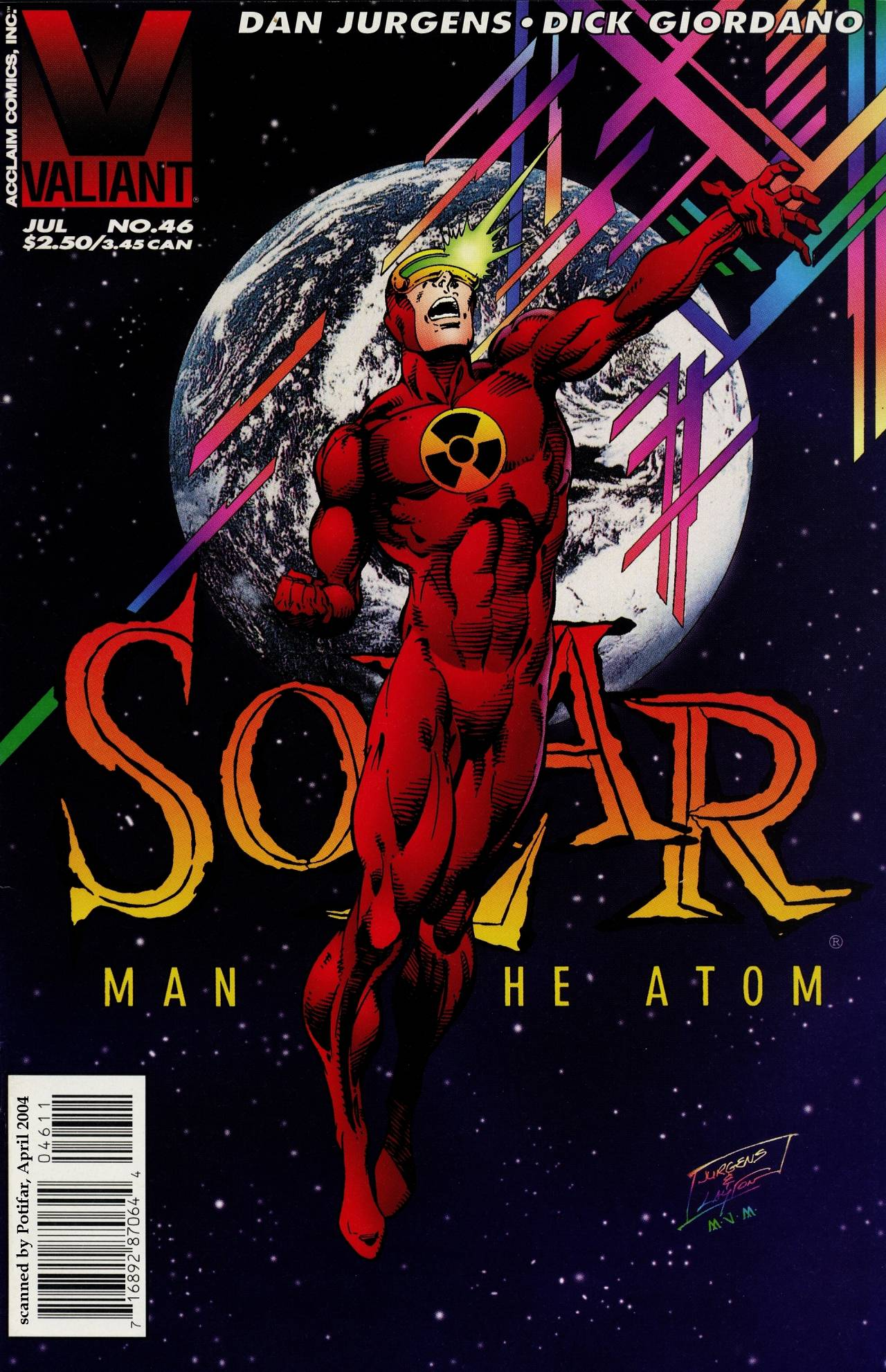 Read online Solar, Man of the Atom comic -  Issue #46 - 1