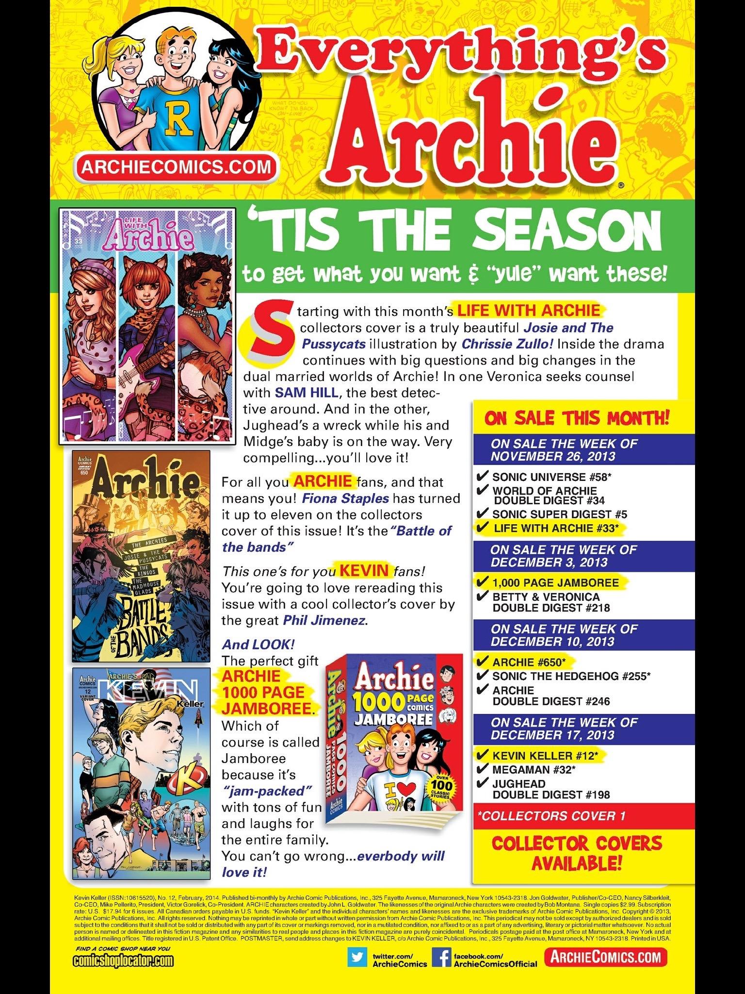 Read online Kevin Keller comic -  Issue #12 - 25
