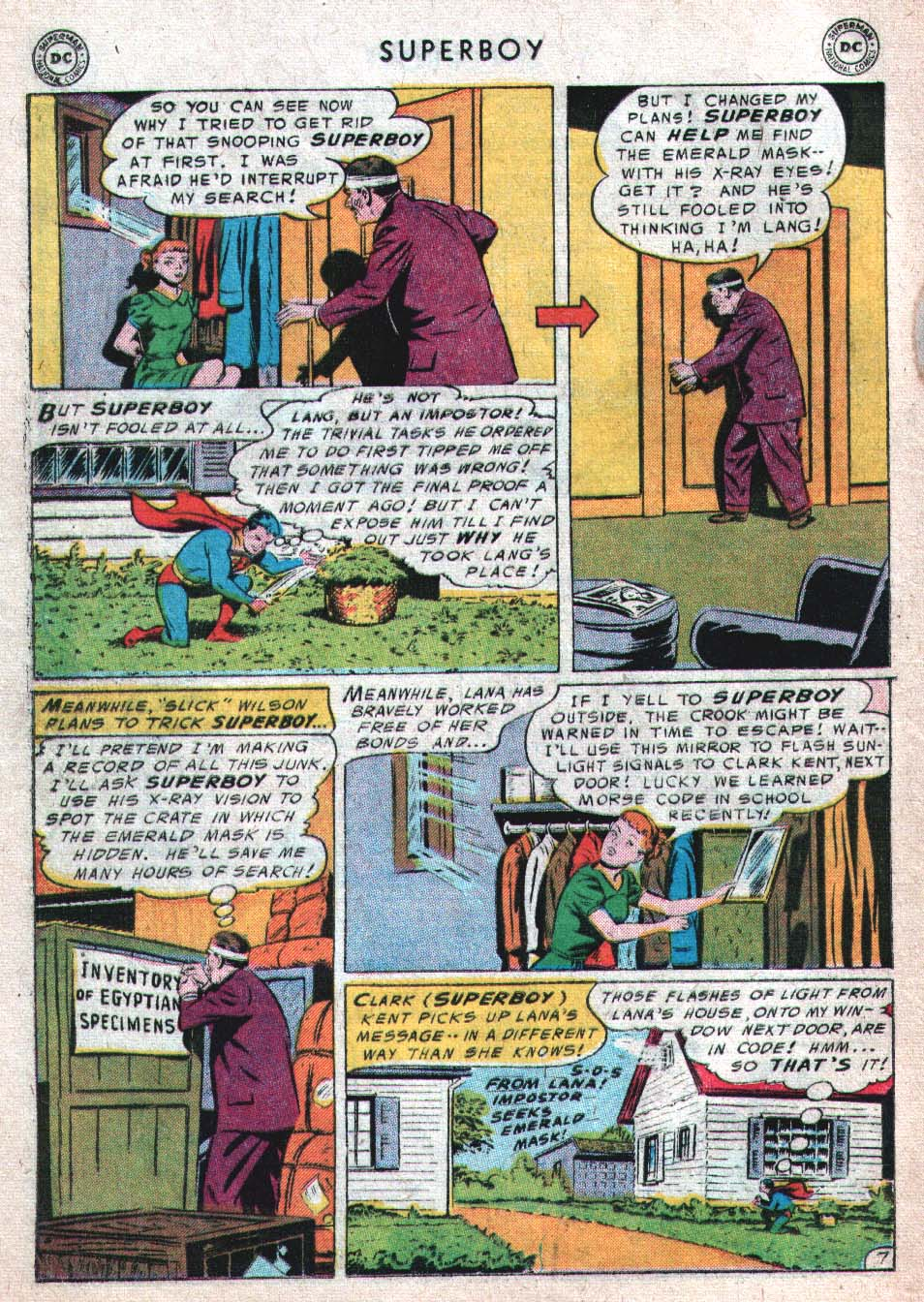 Superboy (1949) issue 46 - Page 16