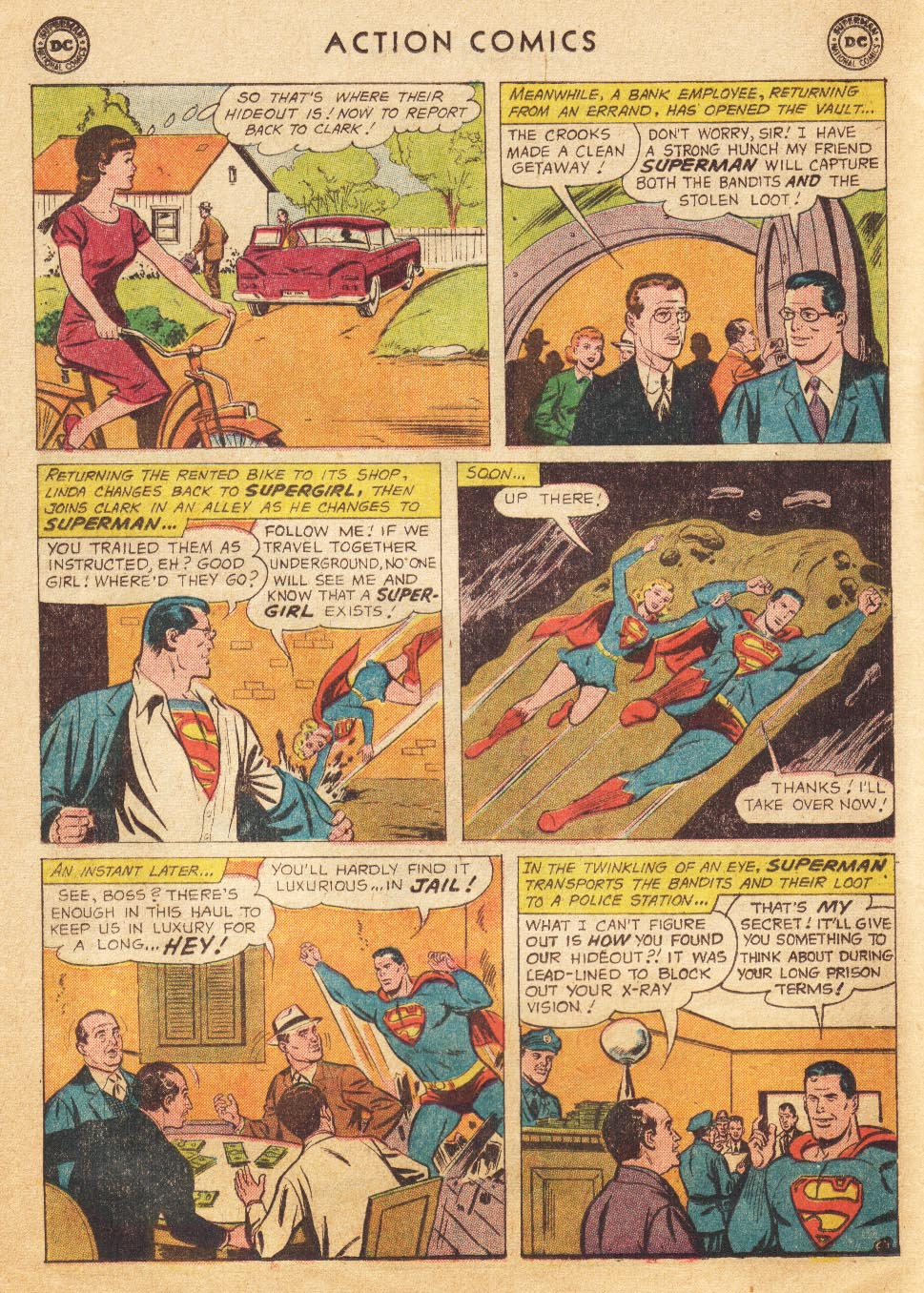 Read online Action Comics (1938) comic -  Issue #265 - 22