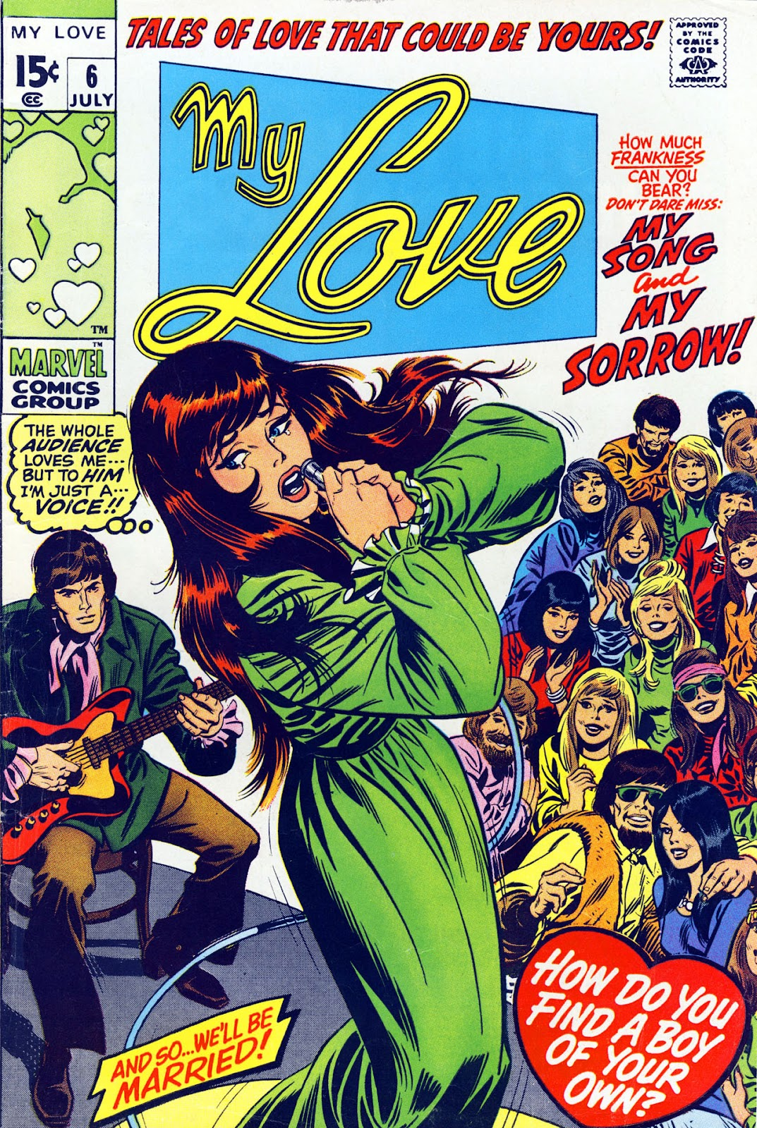My Love (1969) issue 6 - Page 1