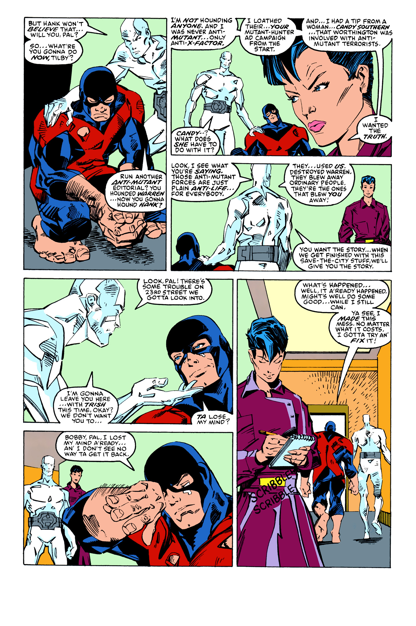Read online X-Factor (1986) comic -  Issue #26 - 16