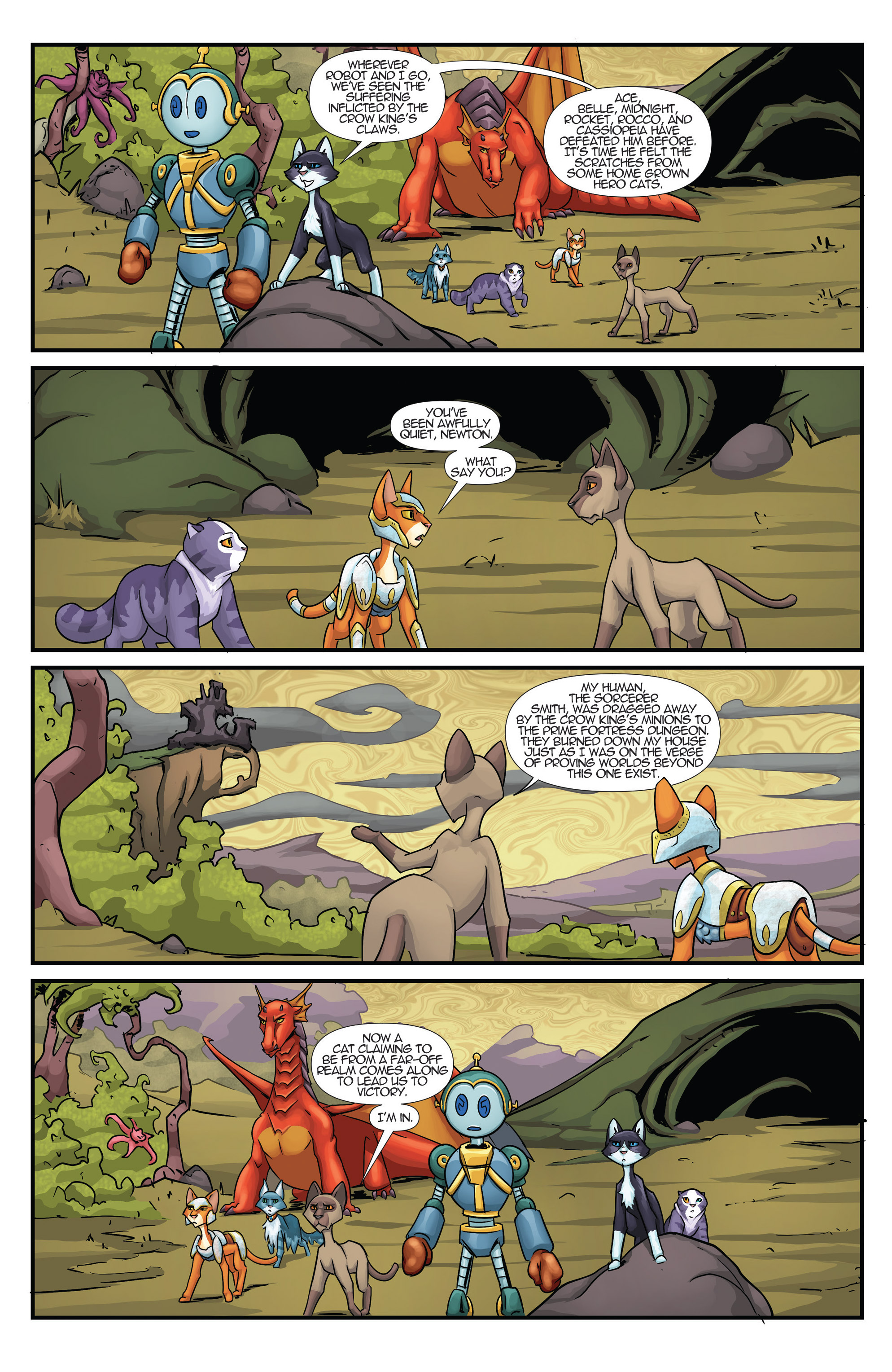 Read online Hero Cats comic -  Issue #17 - 22