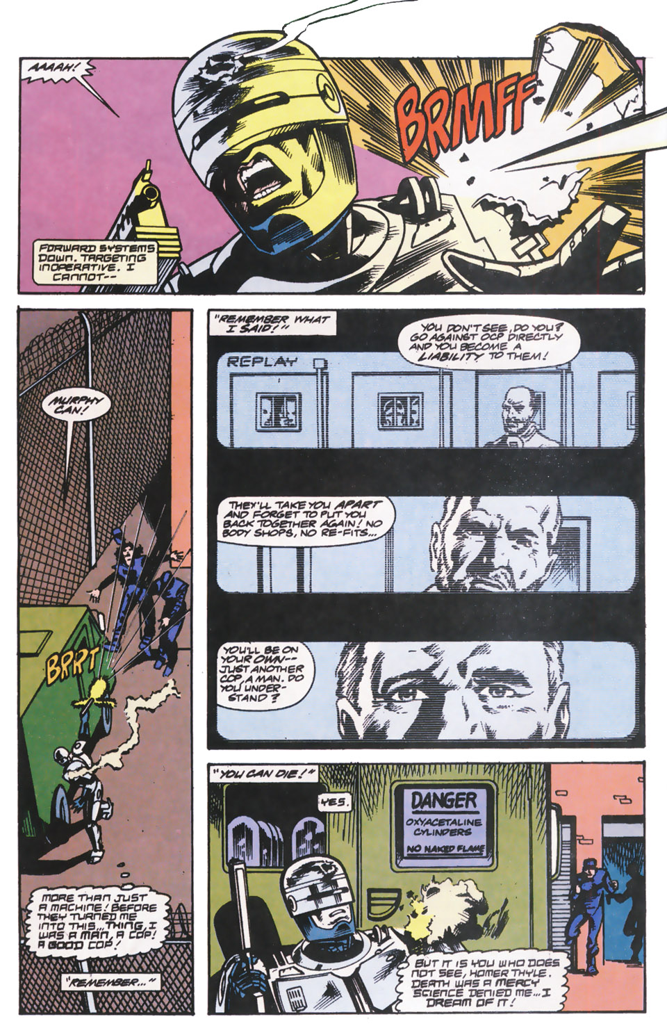 Read online Robocop (1990) comic -  Issue #14 - 10