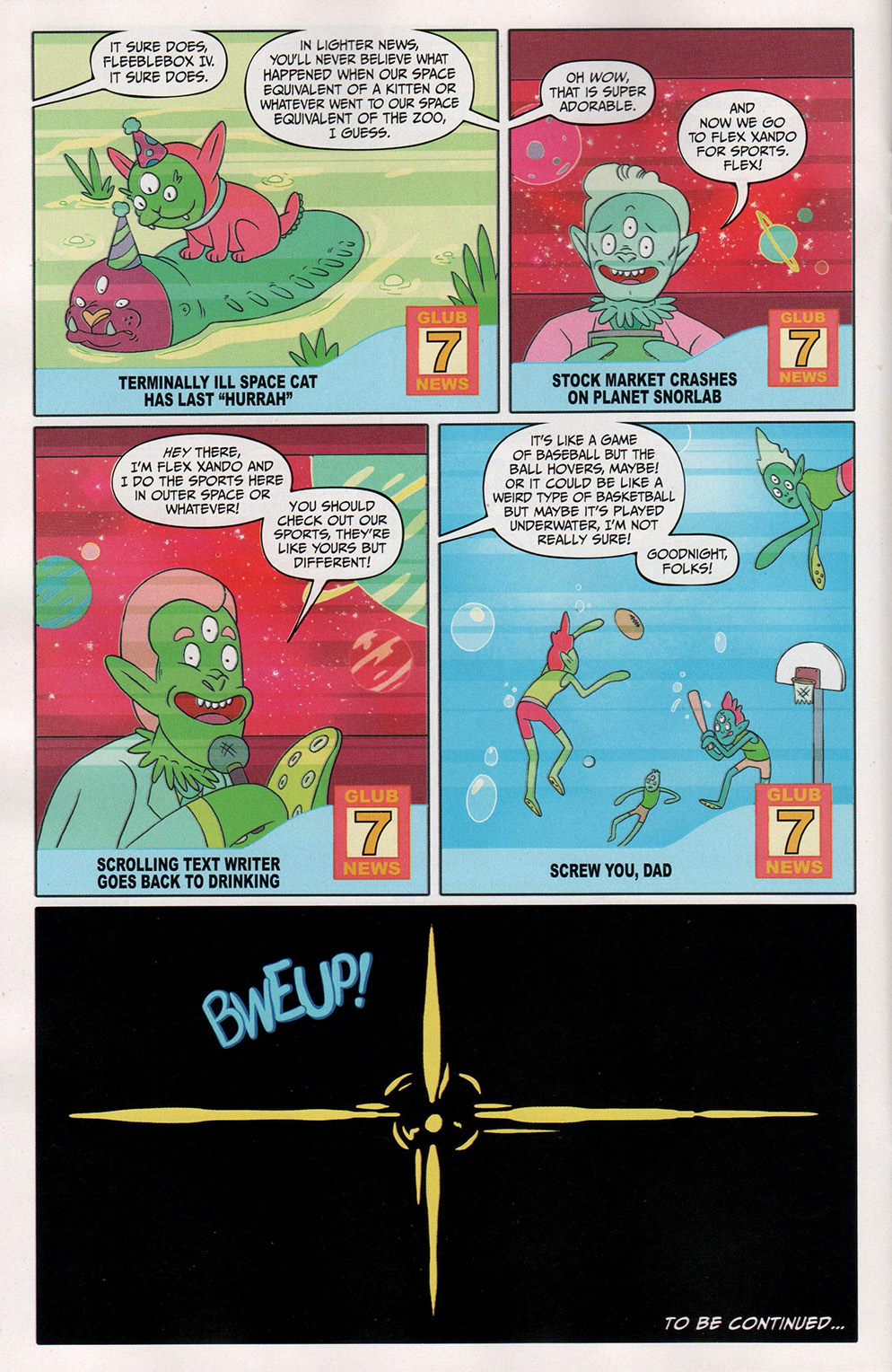 Read online Free Comic Book Day 2017 comic -  Issue # Rick and Morty - 20