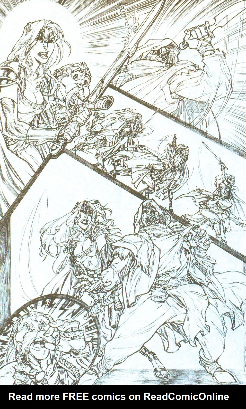 Read online Lady Pendragon / More Than Mortal comic -  Issue # _Preview - 8