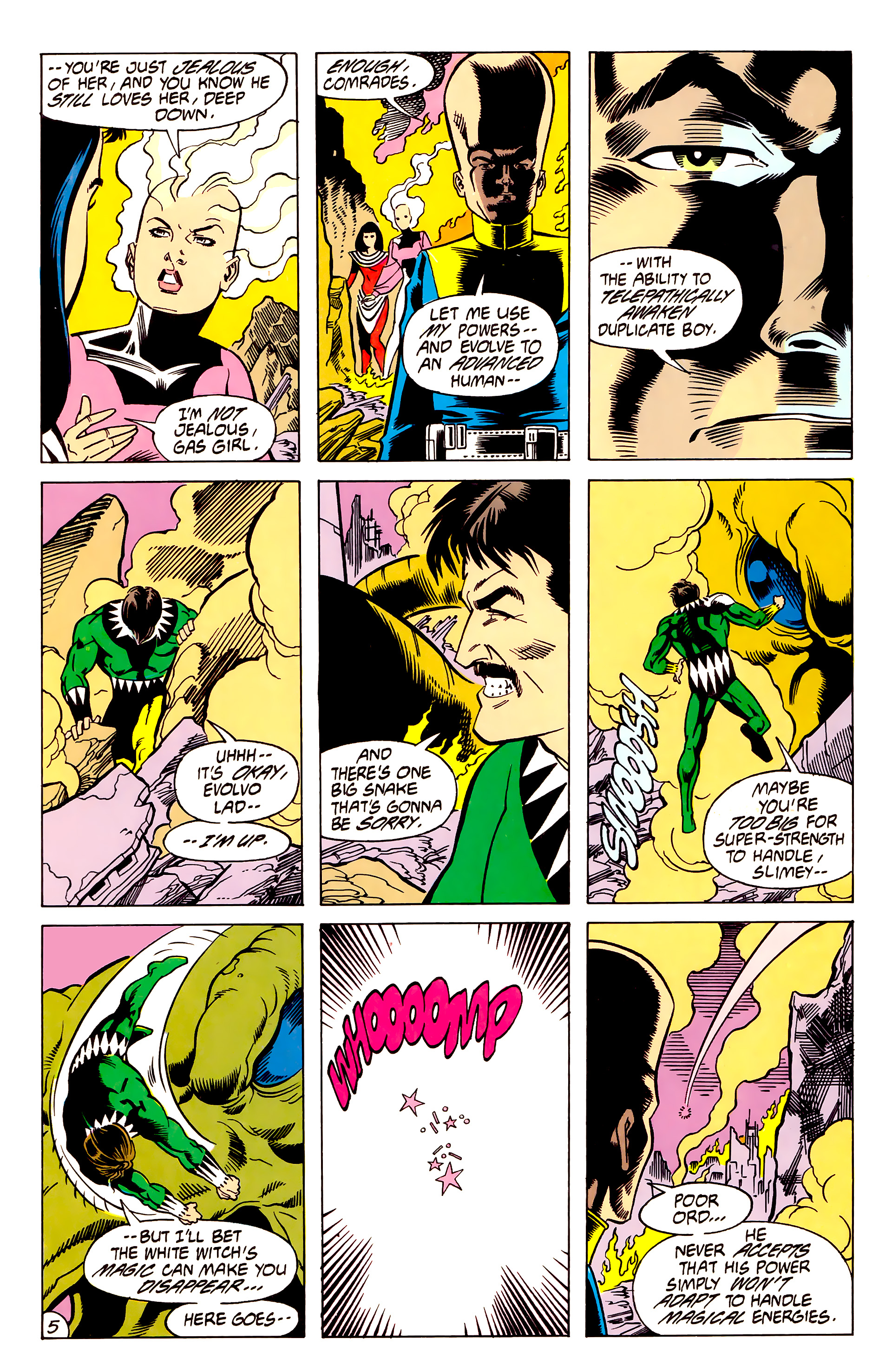 Legion of Super-Heroes (1984) 62 Page 5