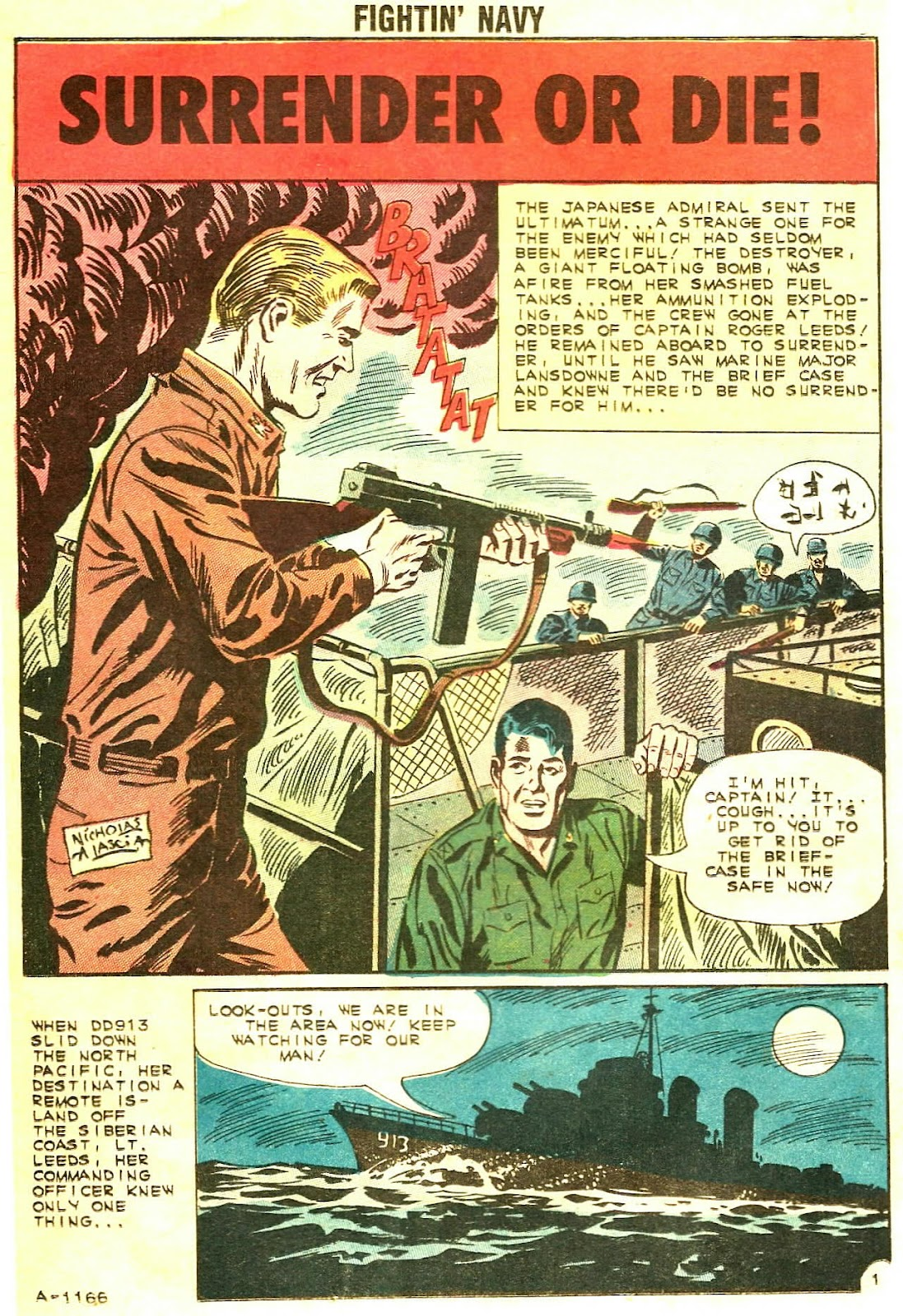 Read online Fightin' Navy comic -  Issue #102 - 12
