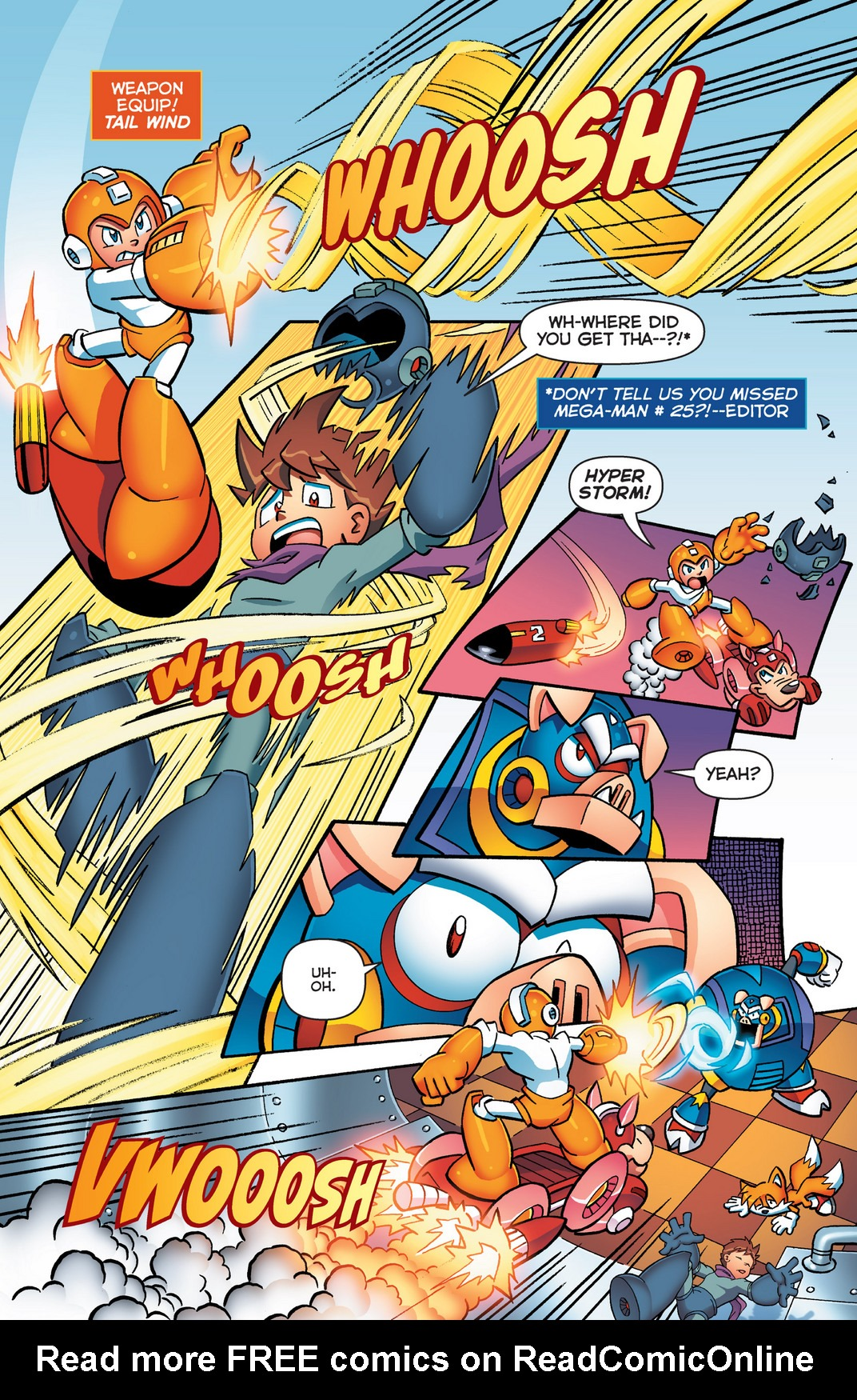 Read online Sonic Mega Man Worlds Collide comic -  Issue # Vol 2 - 22