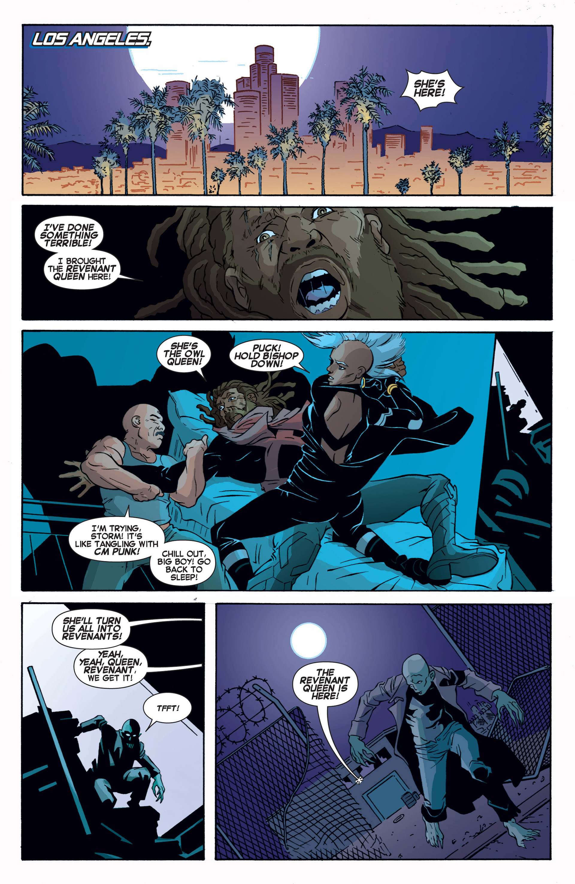 Read online Uncanny X-Force (2013) comic -  Issue #9 - 21