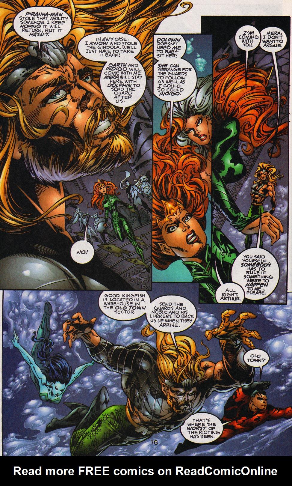 Read online Aquaman (1994) comic -  Issue #59 - 17