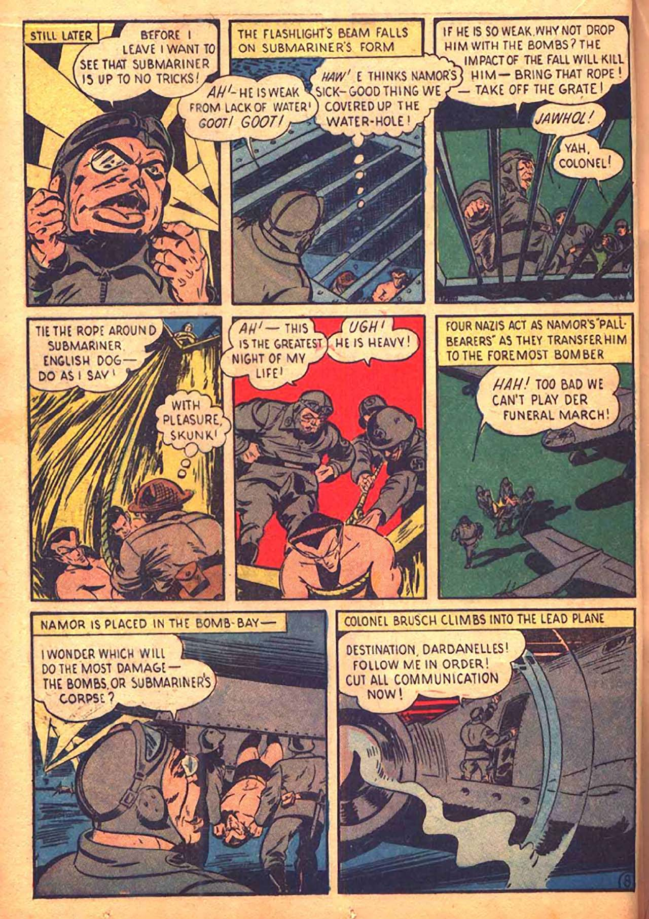 Read online All-Winners Comics comic -  Issue #9 - 35