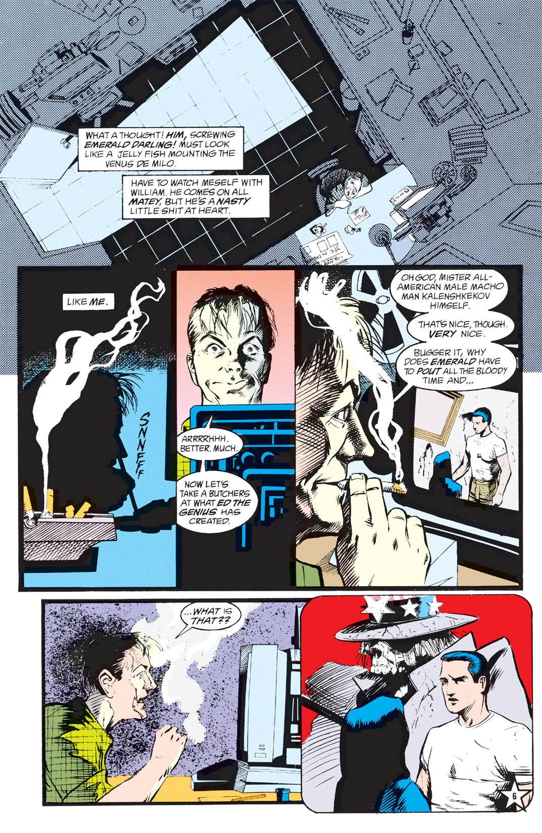 Read online Shade, the Changing Man comic -  Issue #5 - 8