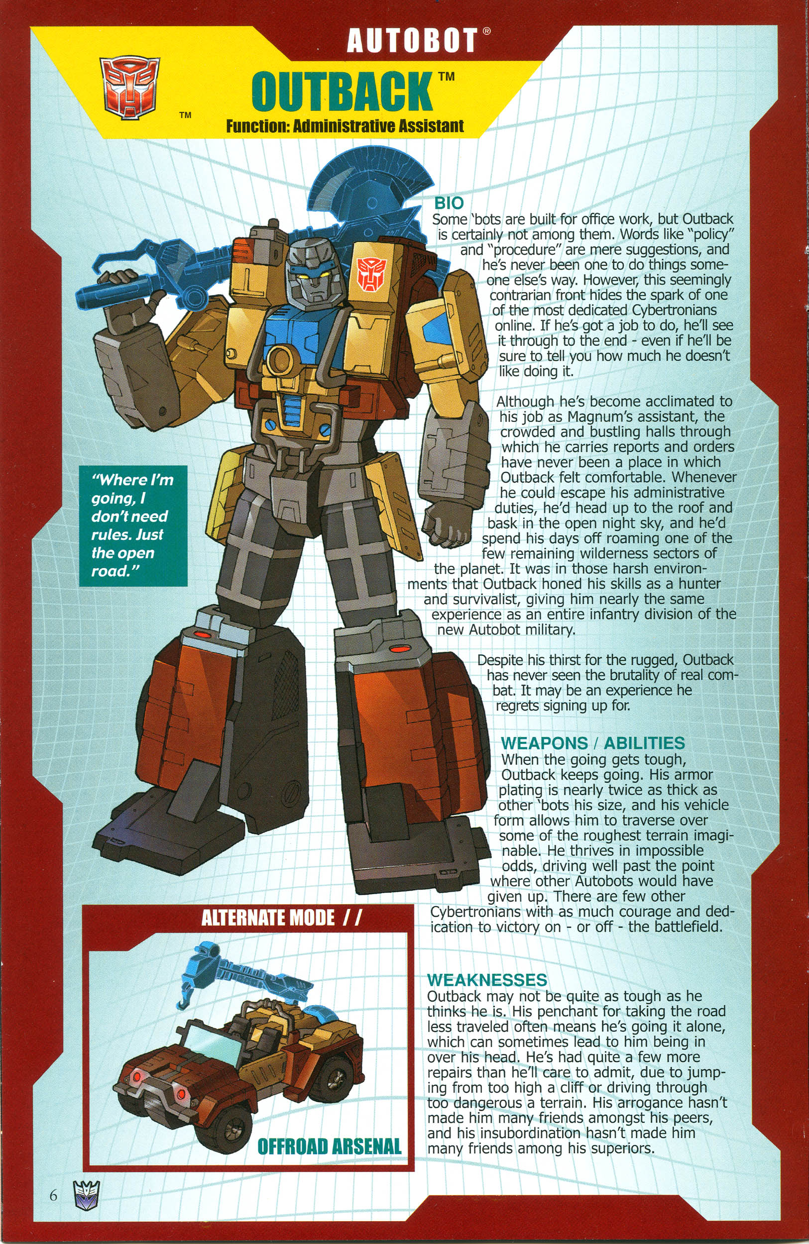 Read online Transformers: Collectors' Club comic -  Issue #38 - 6