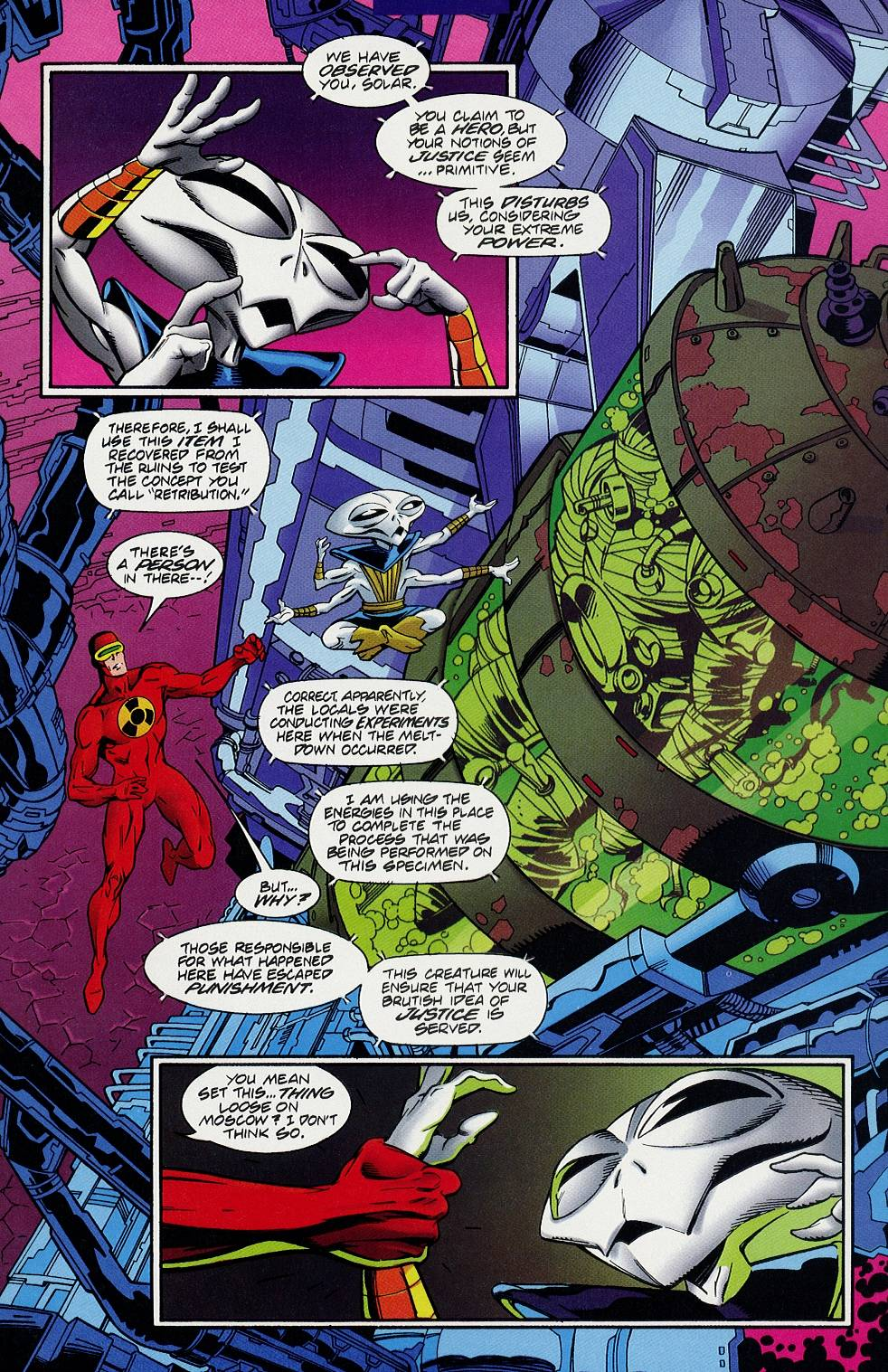 Read online Solar, Man of the Atom comic -  Issue #58 - 7