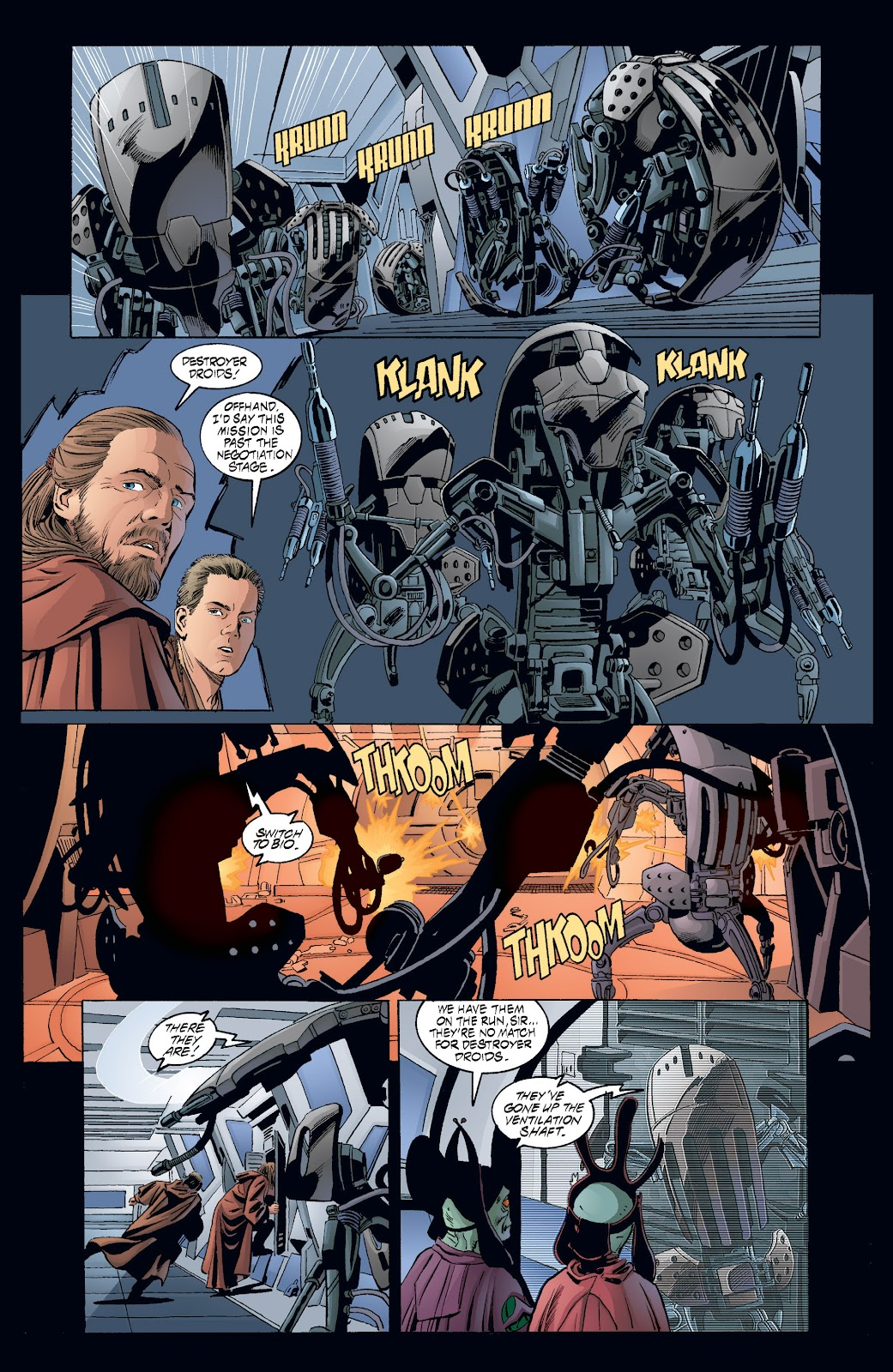 Read online Star Wars Legends: Rise of the Sith - Epic Collection comic -  Issue # TPB 2 (Part 3) - 45
